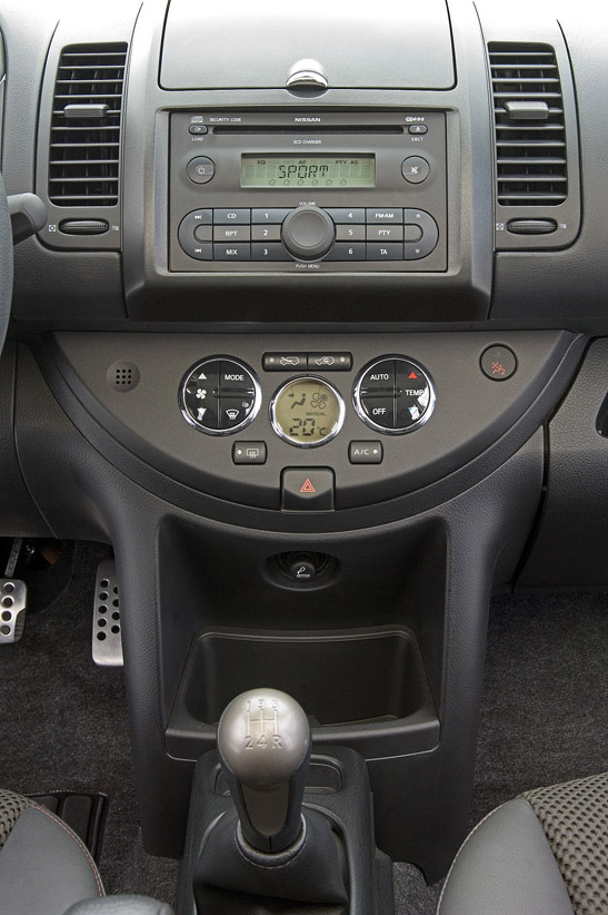 2007 Nissan Note Top Speed