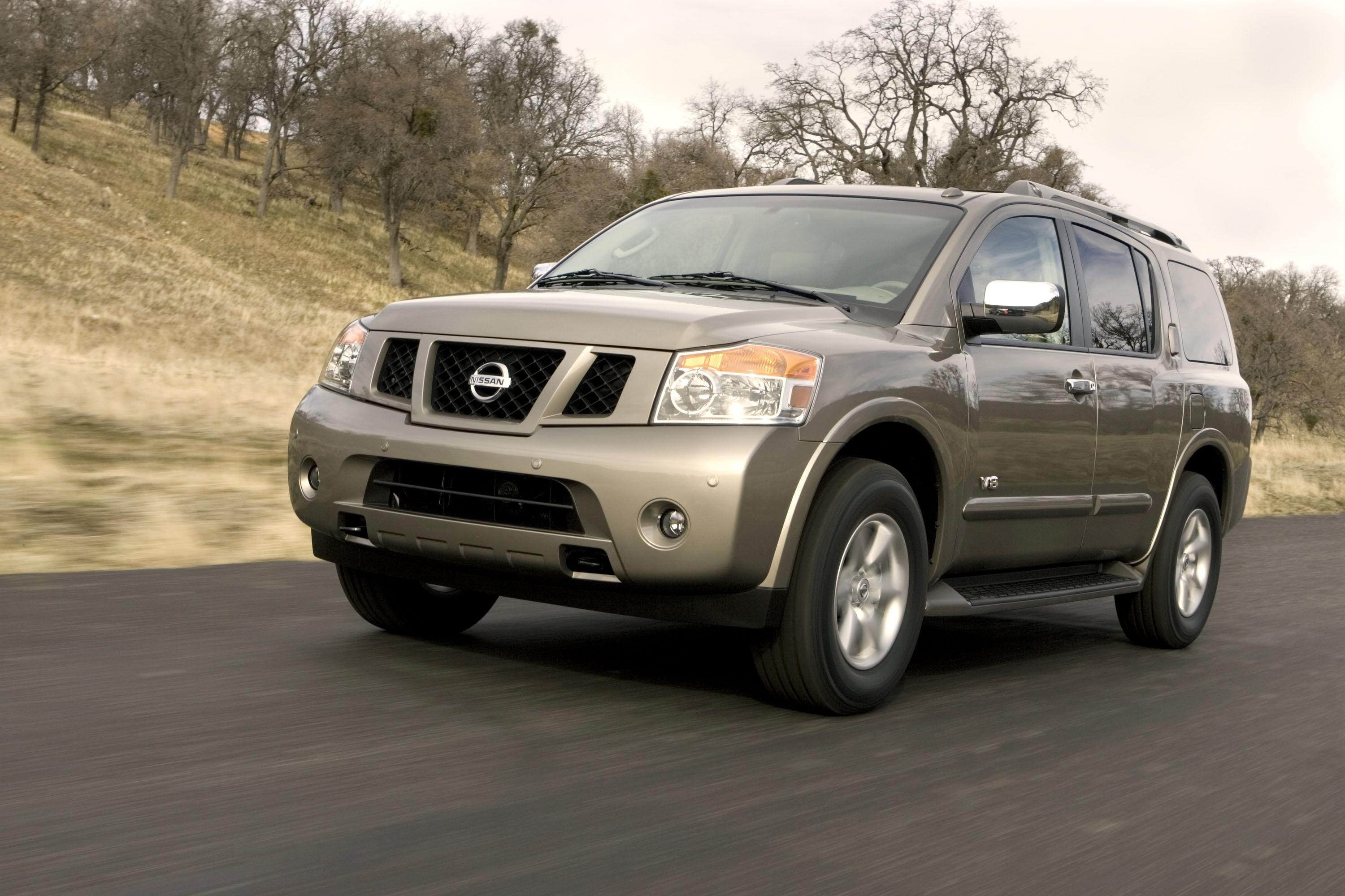 2008 nissan titan and armada pricing announced news top speed. Black Bedroom Furniture Sets. Home Design Ideas