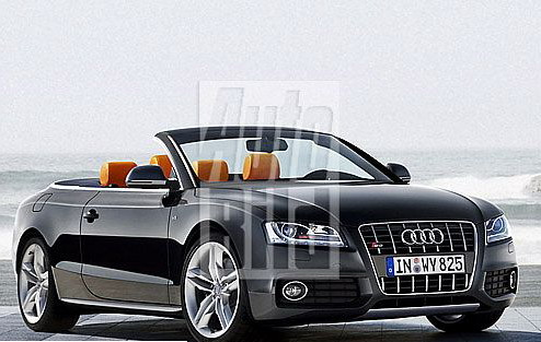Audi A5 Convertible And Station Wagon In The Work Picture