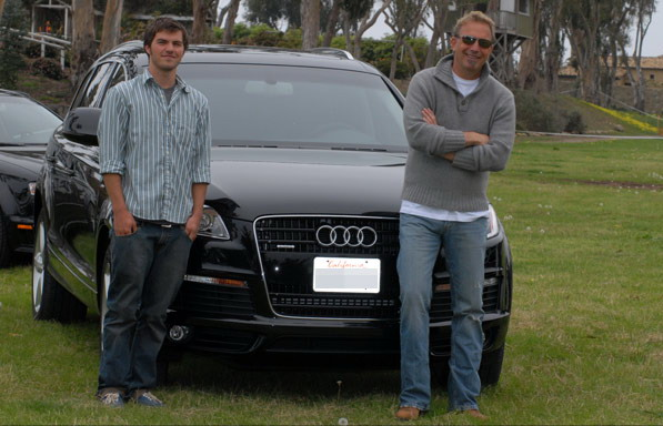 Kevin Costner Bought An Audi Q7 And S8 Top Speed