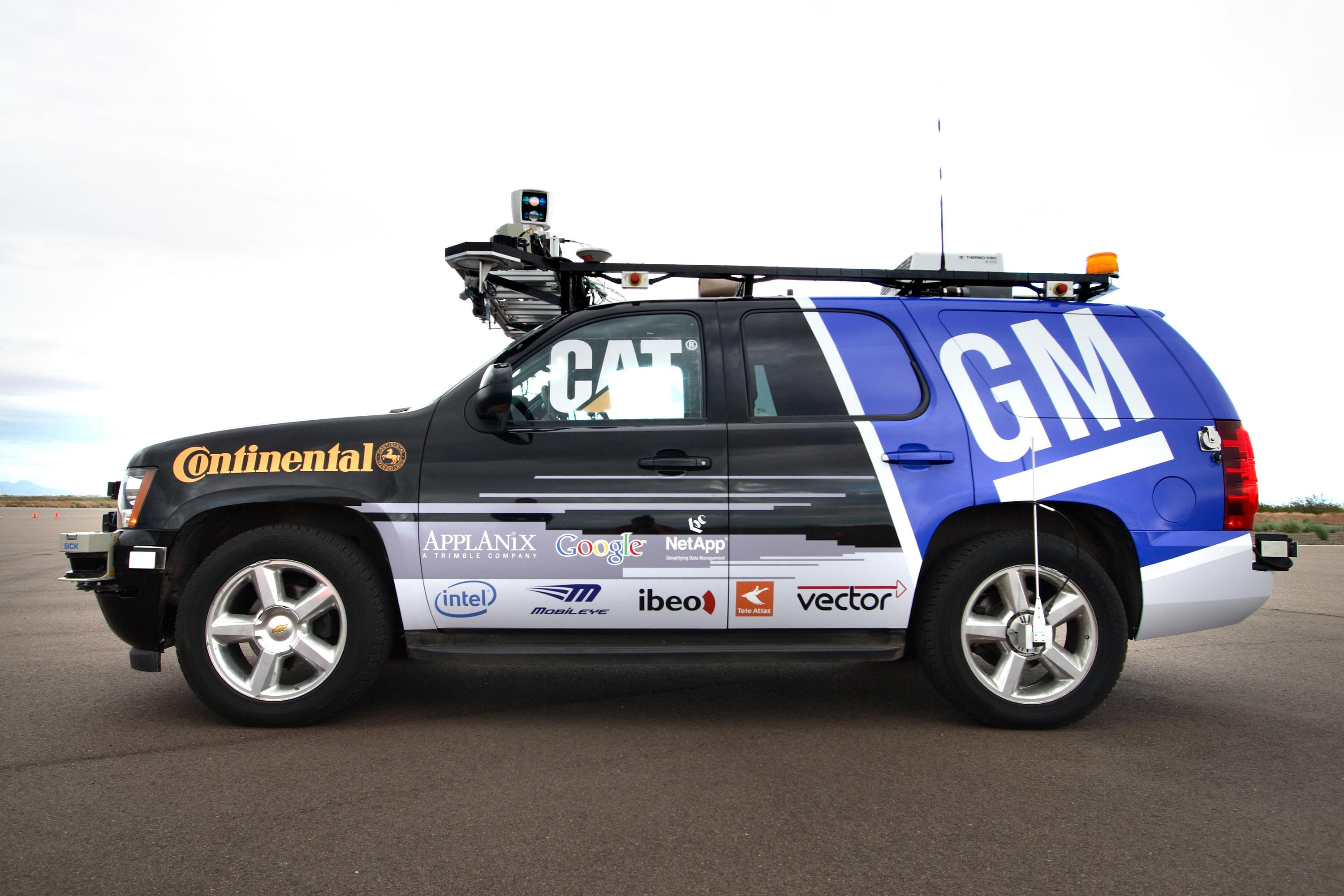 Self-driving Chevrolet Tahoe To Compete In The Urban Challenge ...