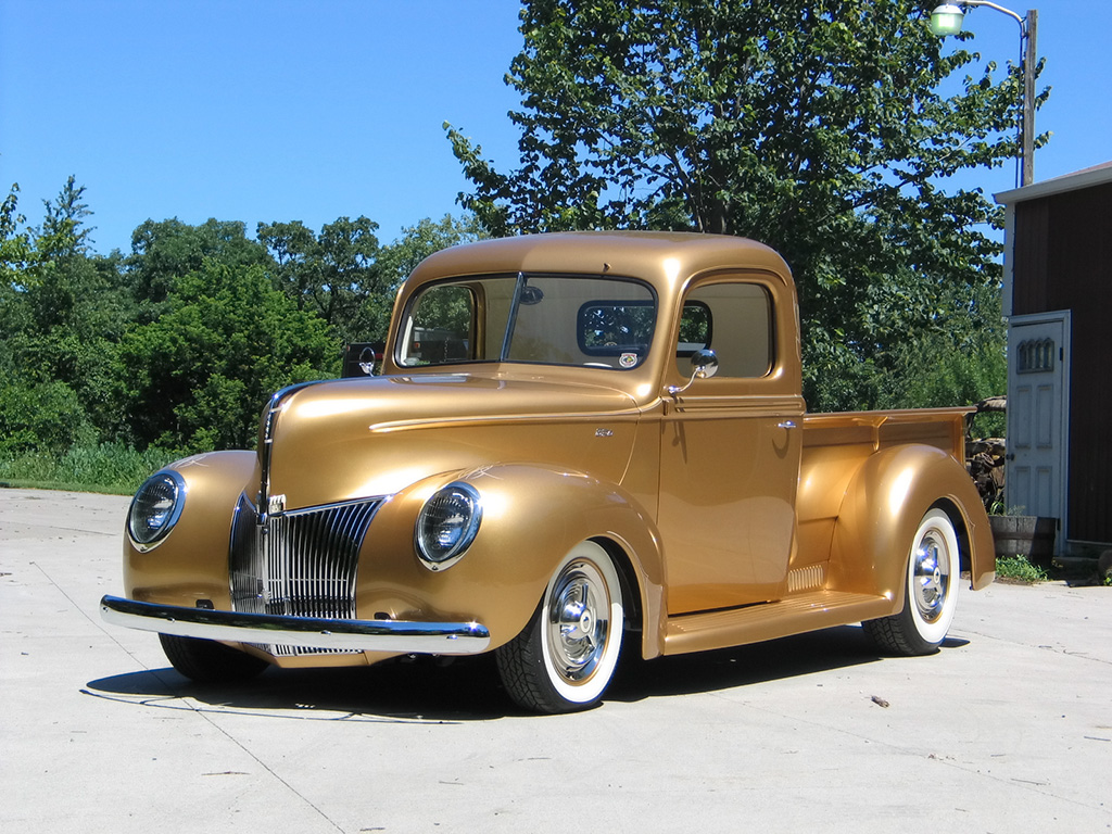 1940 ford pickup by fastlane rod shop news top speed. Black Bedroom Furniture Sets. Home Design Ideas