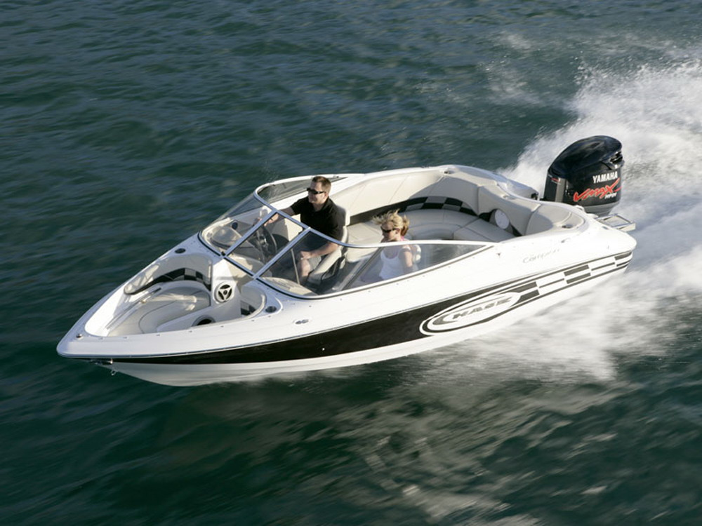 2007 Campion Chase 580 Bowrider Top Speed