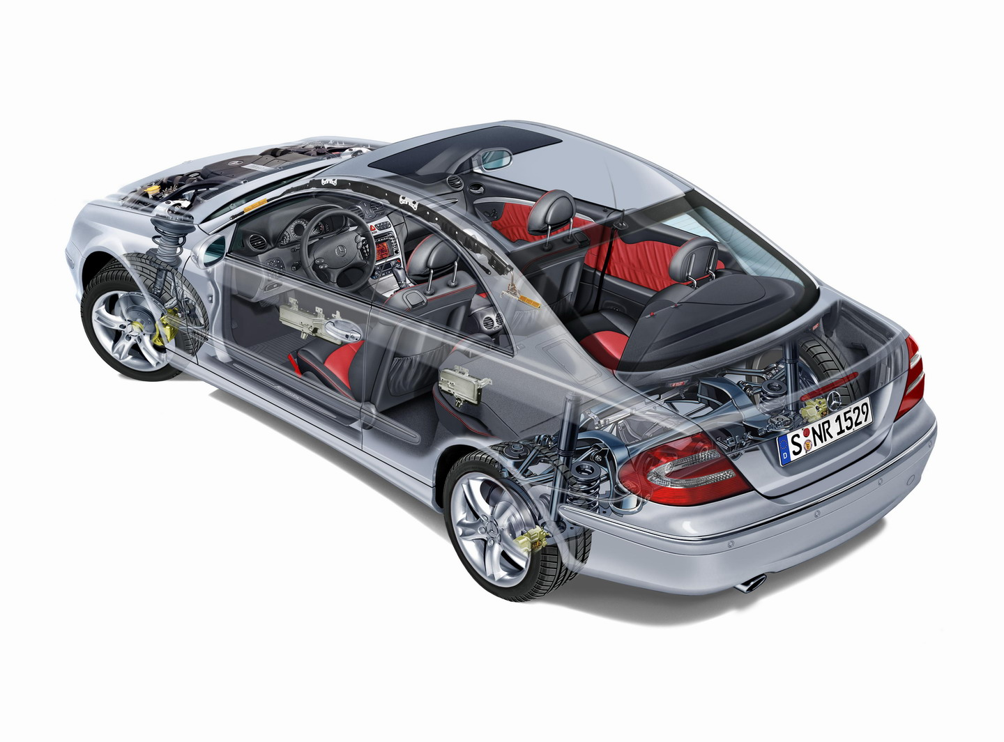 2007 Mercedes CLK Coupe | Top Speed. »