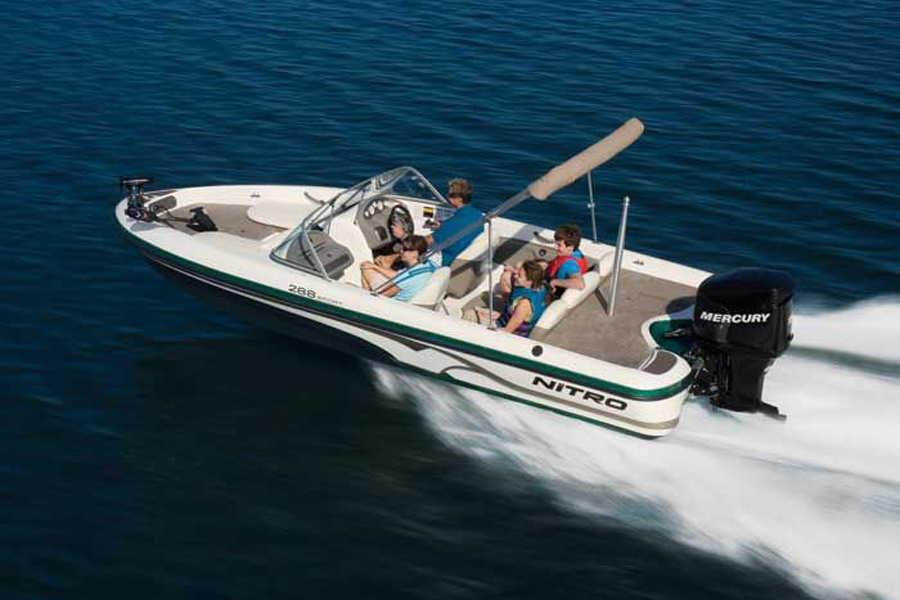 2007 nitro 288 sport review top speed for Fish and ski boat