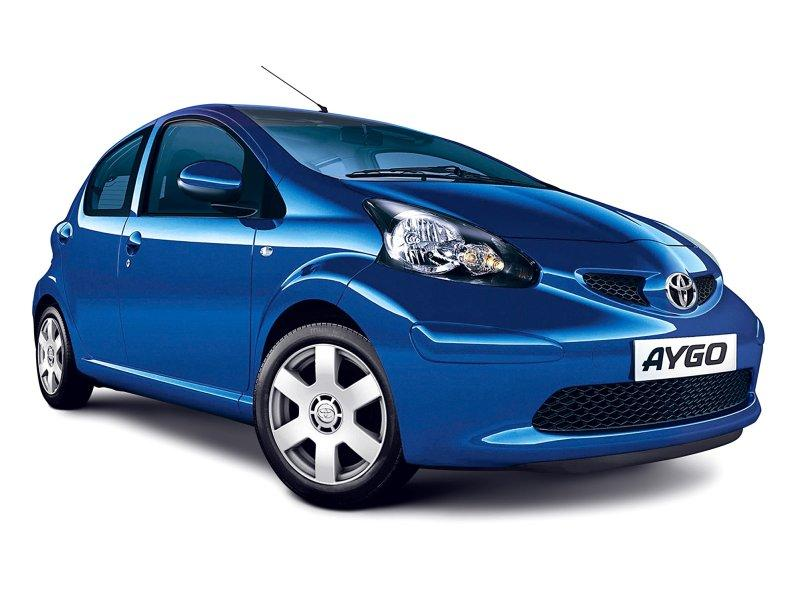 2007 Toyota Aygo Blue Top Speed