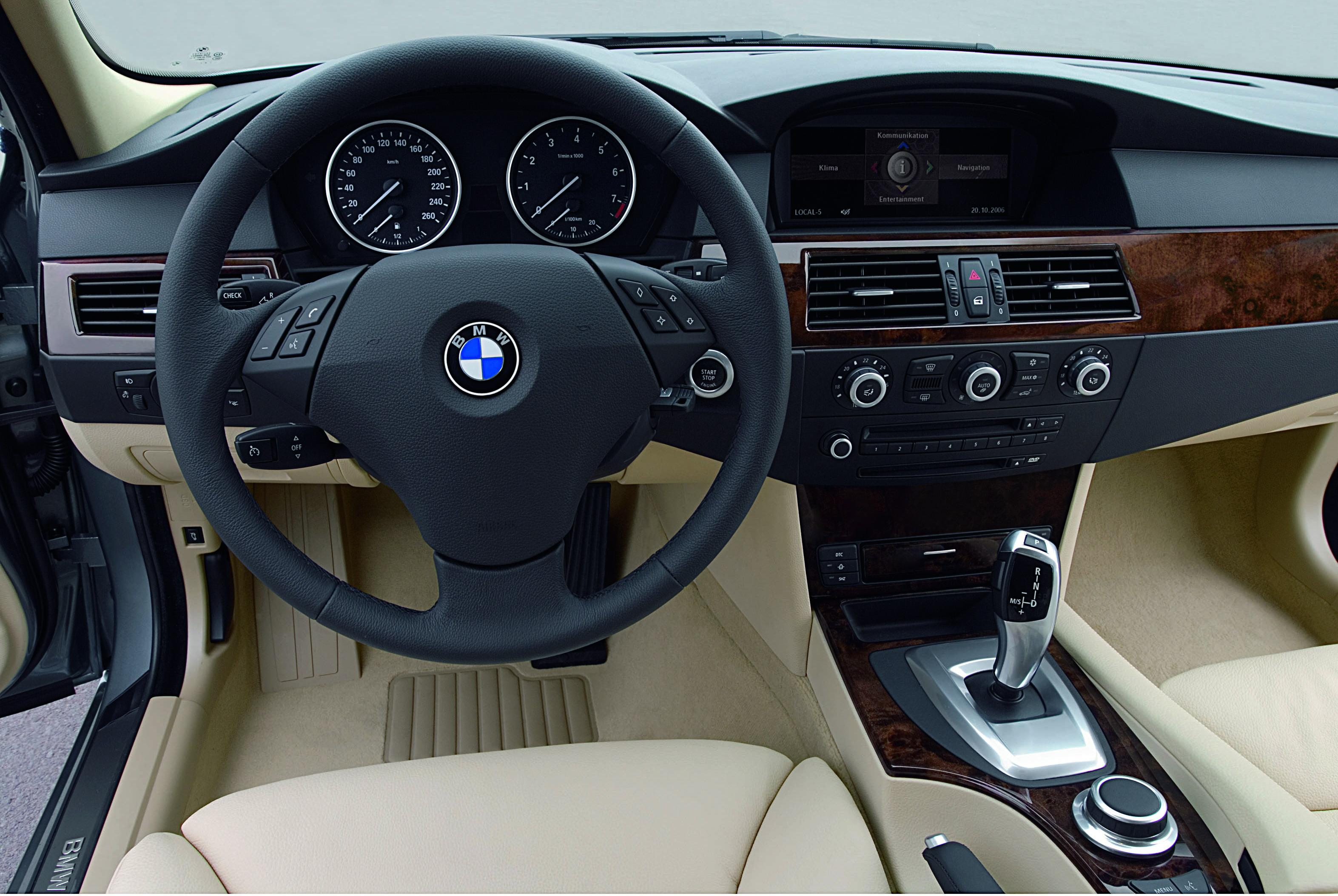 2008 BMW 5-Series Review - Top Speed