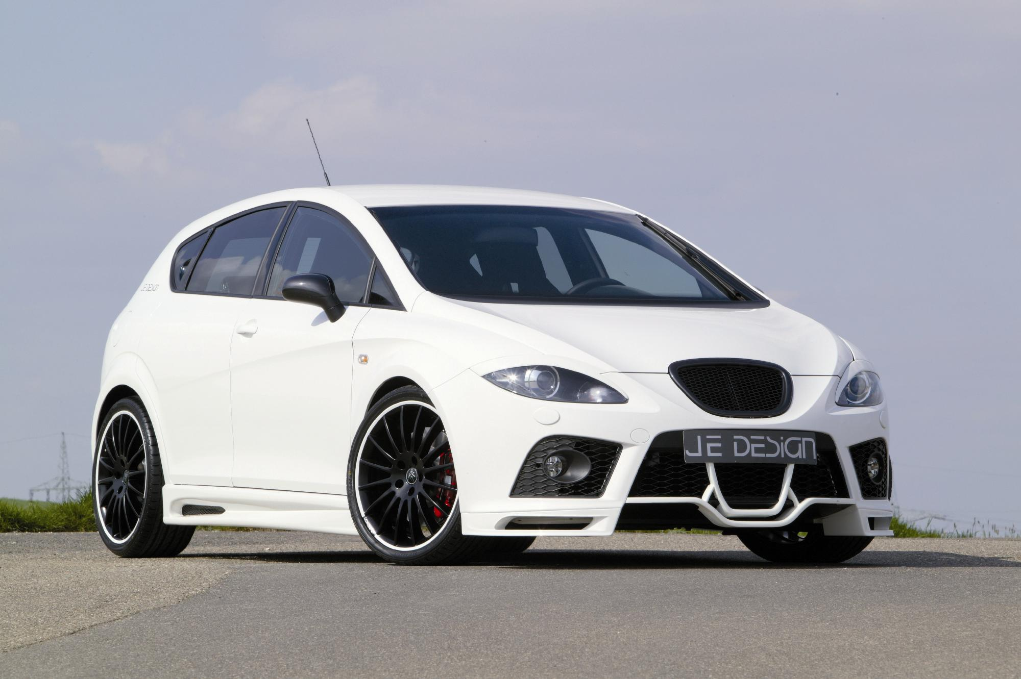 seat leon 1 p cupra by je design review top speed. Black Bedroom Furniture Sets. Home Design Ideas