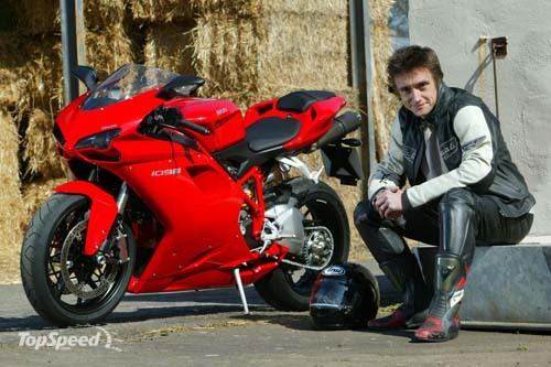 top gear star richard hammond finally gets his dream ducati 1098 picture 169110 motorcycle. Black Bedroom Furniture Sets. Home Design Ideas