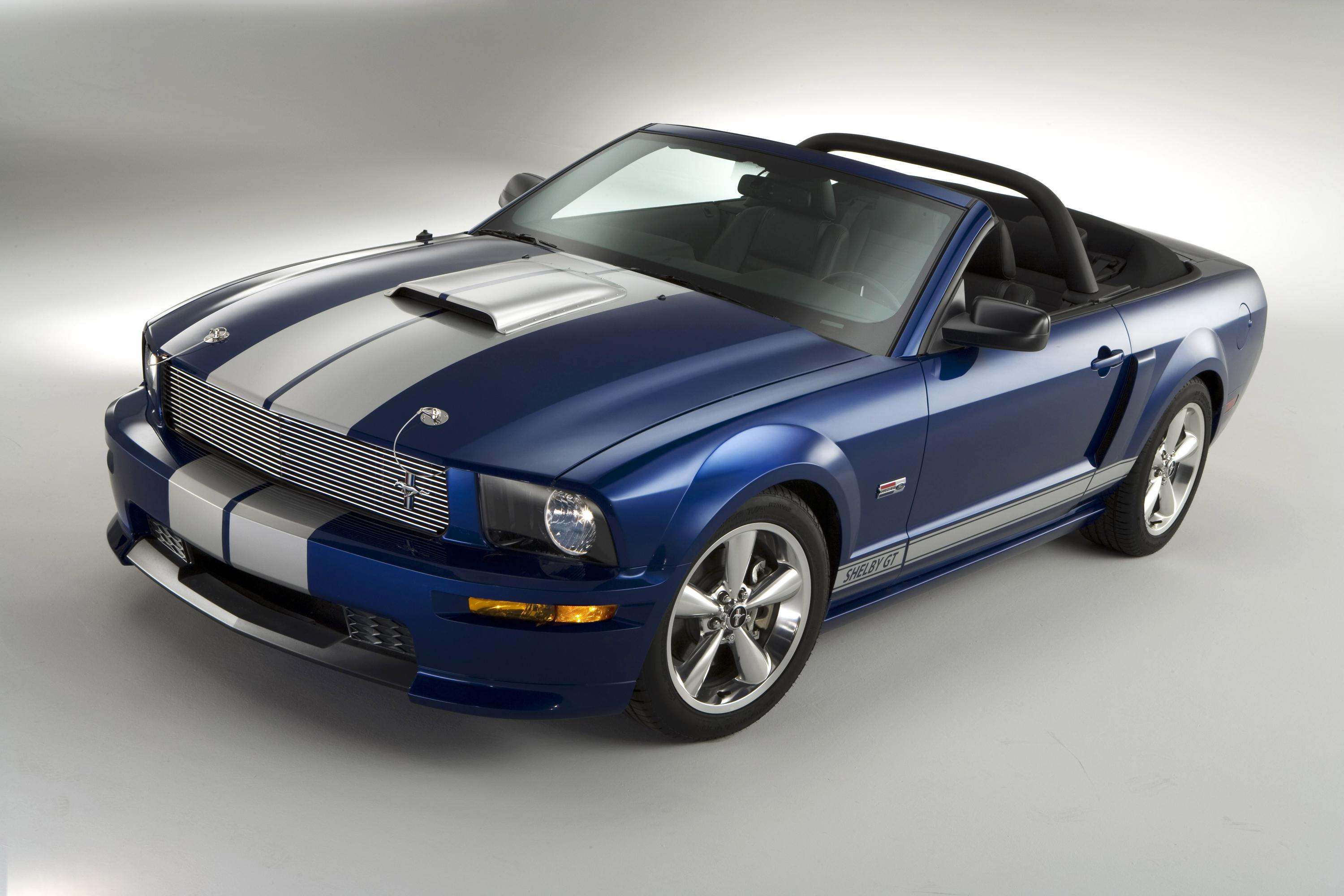 2008 ford shelby gt convertible top speed