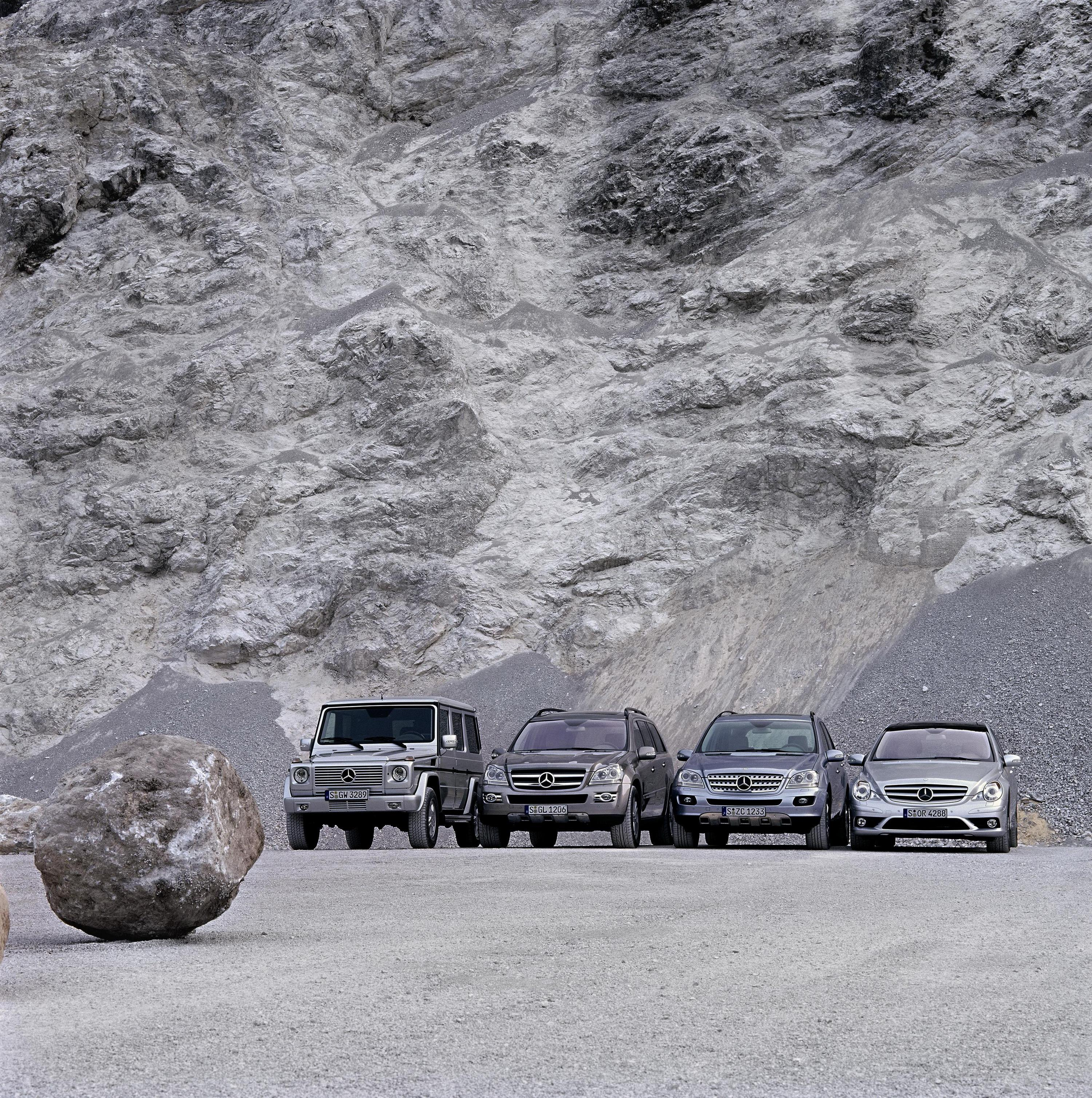 The Mercedes-Benz SUV Family Gallery 177322