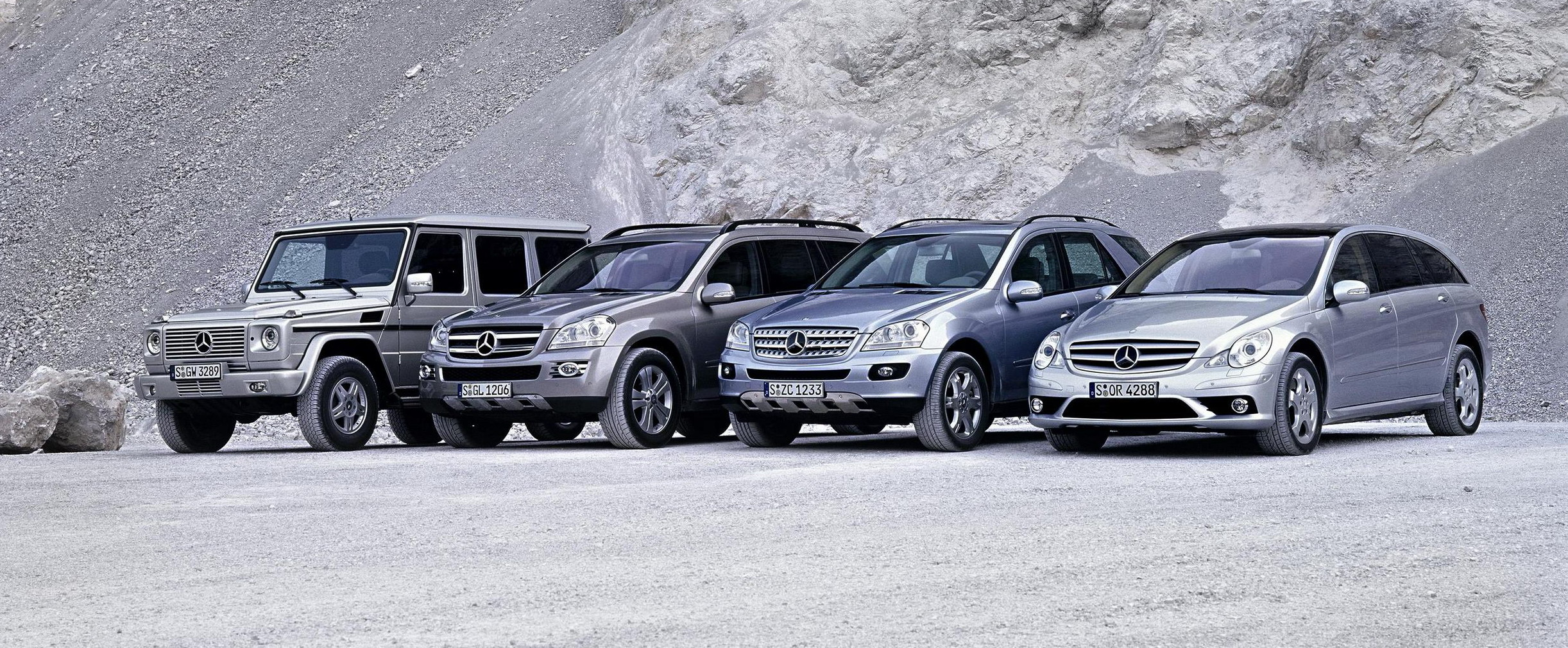 The Mercedes Benz Suv Family Pictures Photos Wallpapers Top Speed