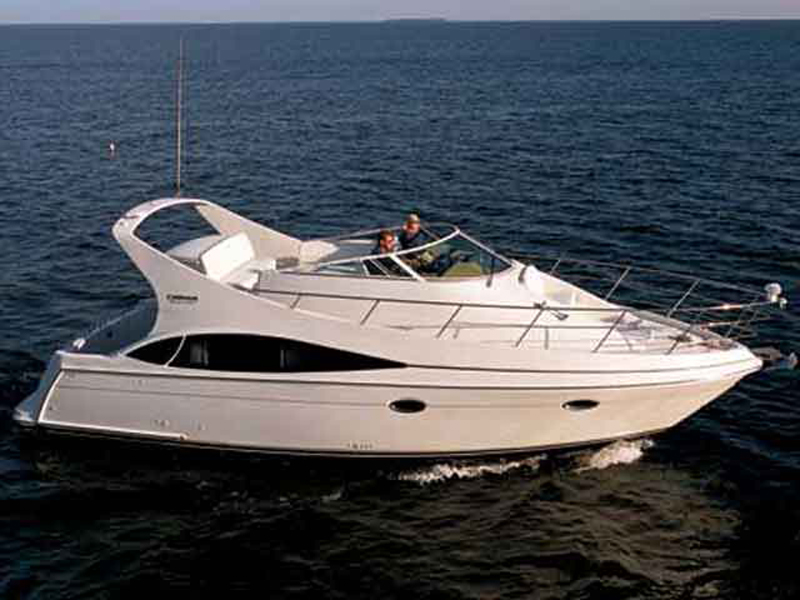 2007 Carver 36 Mariner Review - Top Speed