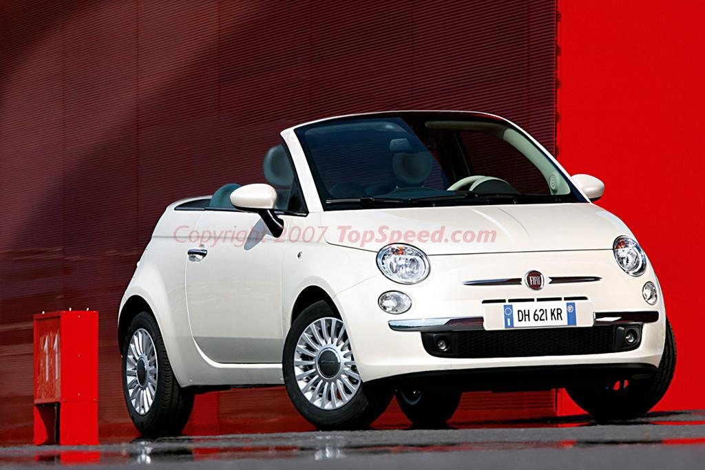 2008 fiat 500 convertible | top speed