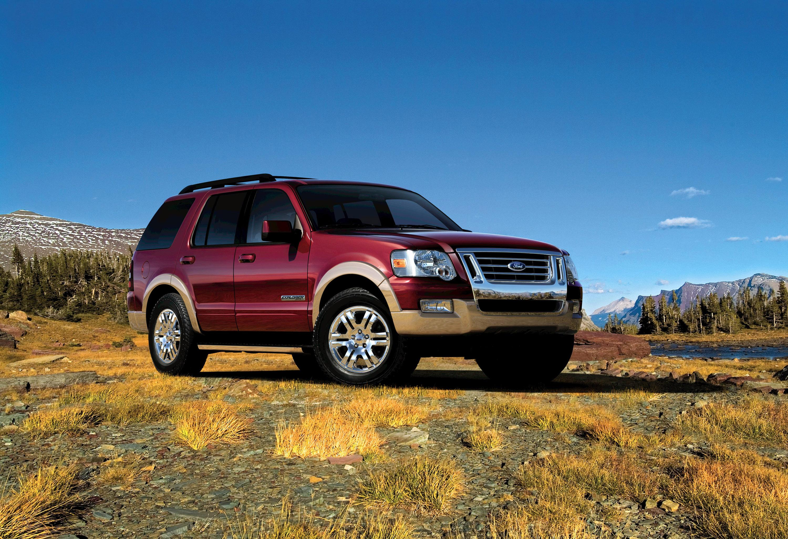 2008 ford explorer top speed
