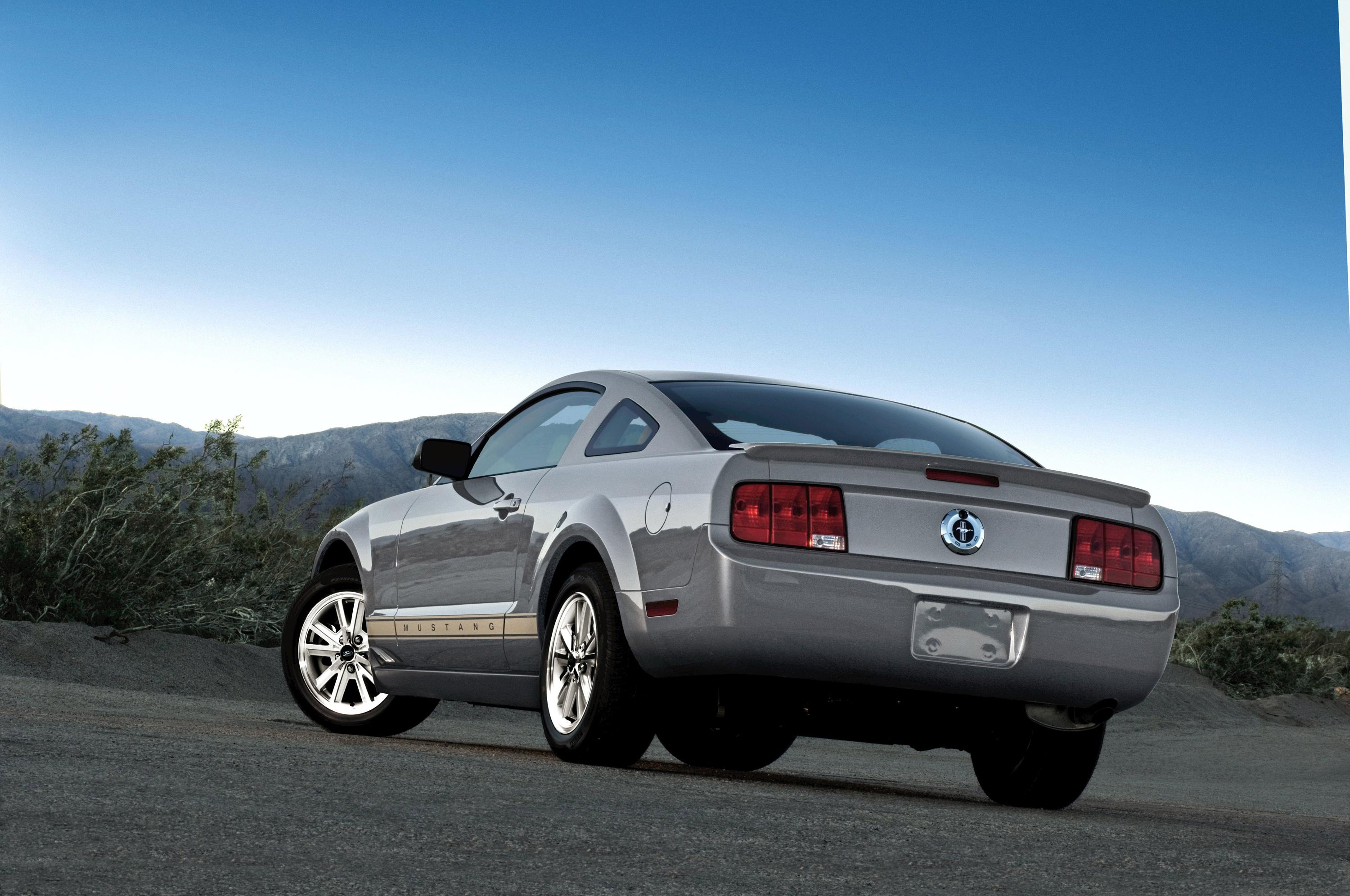 2008 ford mustang top speed