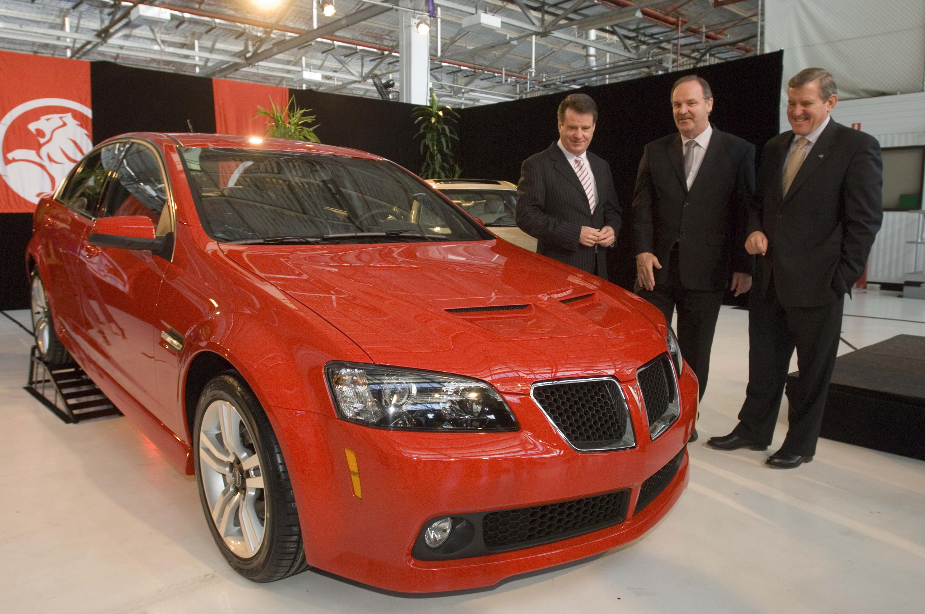 2008 Pontiac G8 Prototypes Review Top Speed