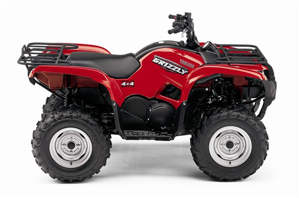 Yamaha Grizzly  Top Speed