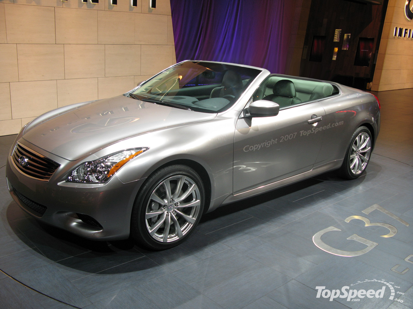 2009 Infiniti G37 Convertible Pictures Photos Wallpapers Top Speed