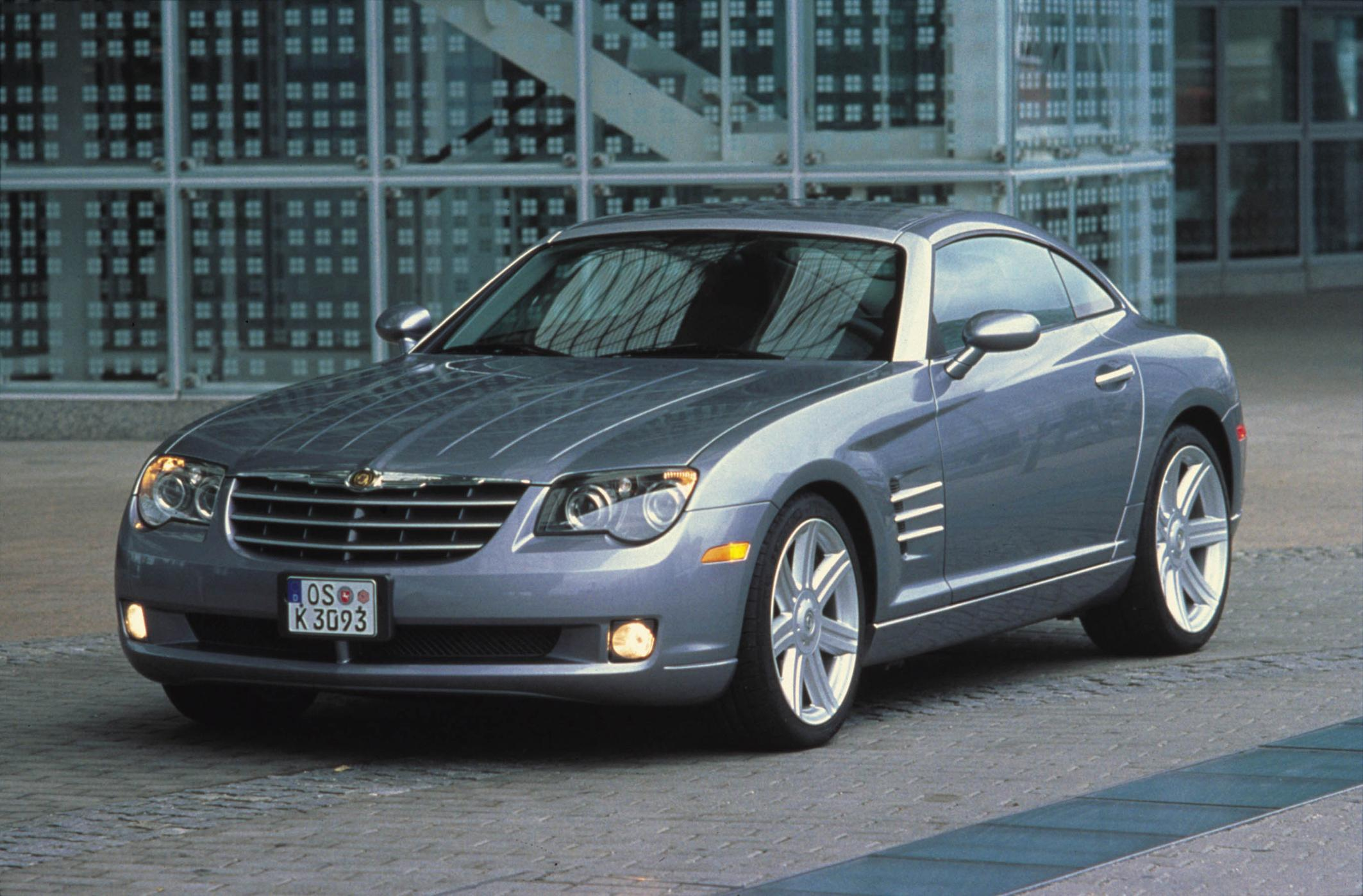 photo stock drivers profile side blue limited crossfire chrysler in