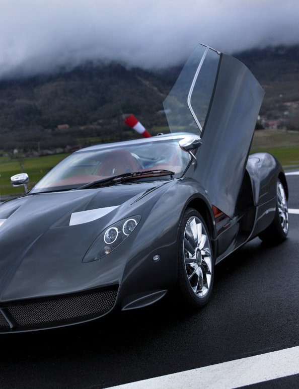 Spyker C12 Zagato Production Delayed Top Speed