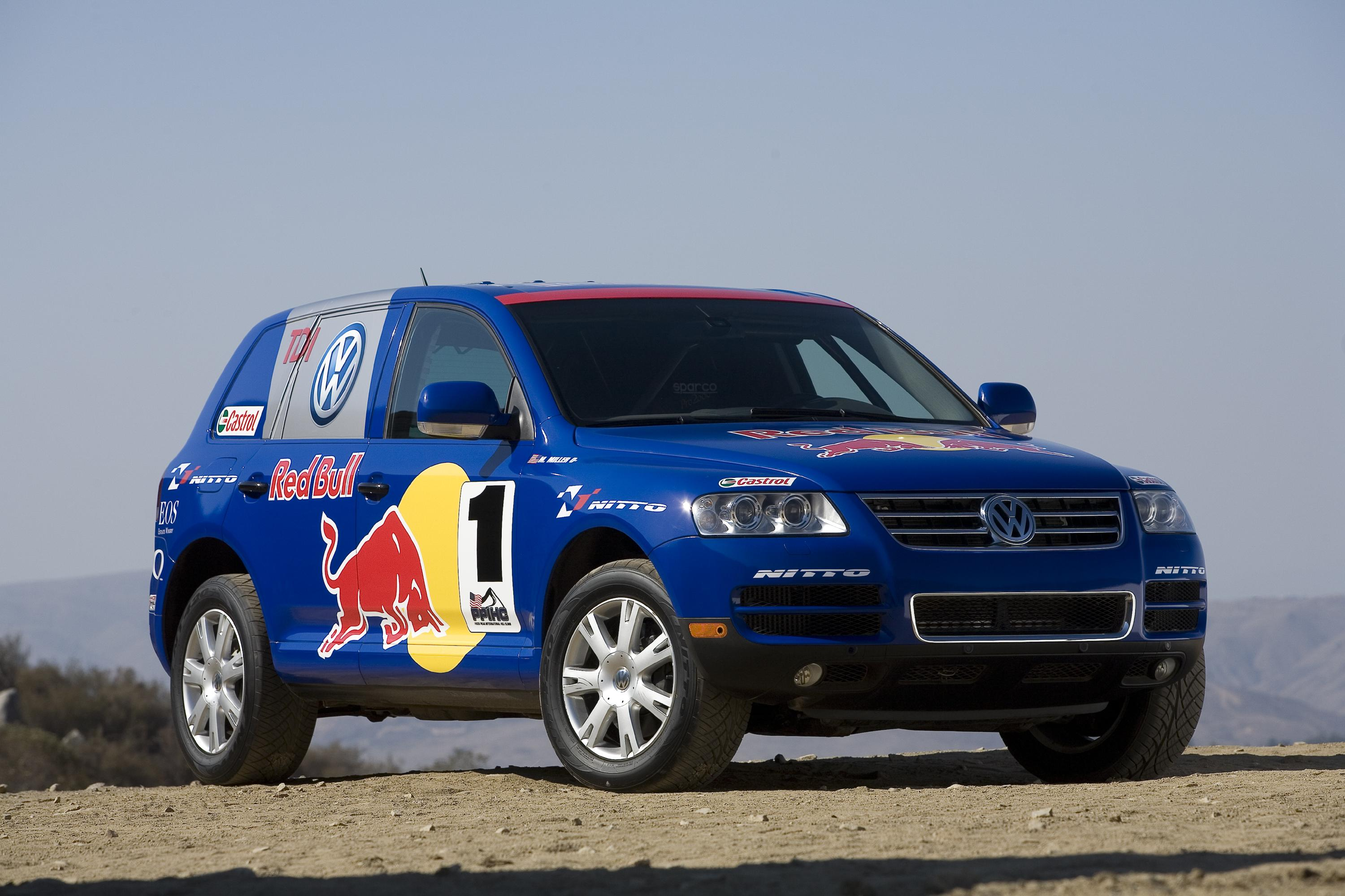 volkswagen touareg v10 tdi to race to the clouds top speed. Black Bedroom Furniture Sets. Home Design Ideas