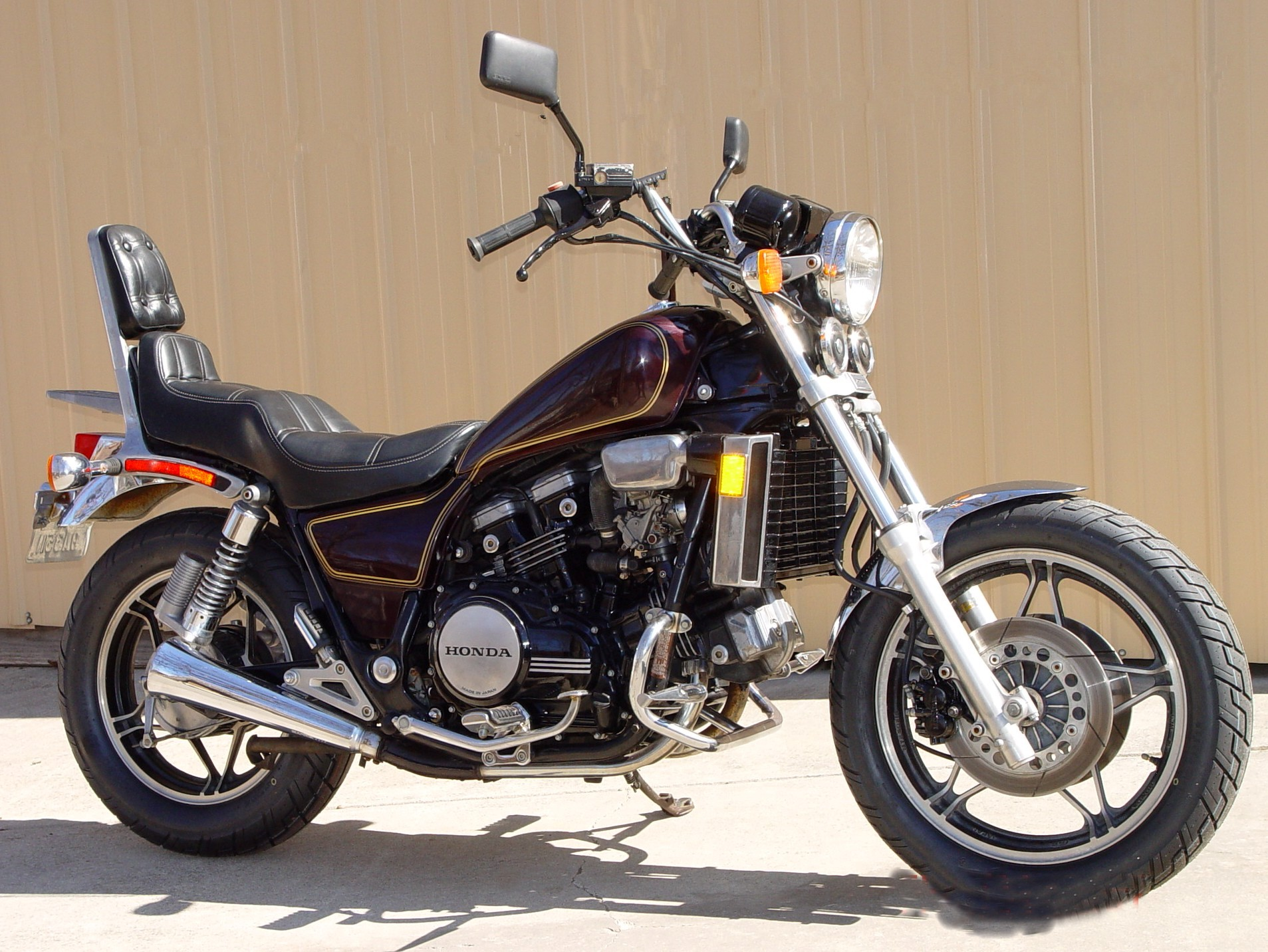 1982 - 2005 Honda VF750C Magna | Top Speed. »