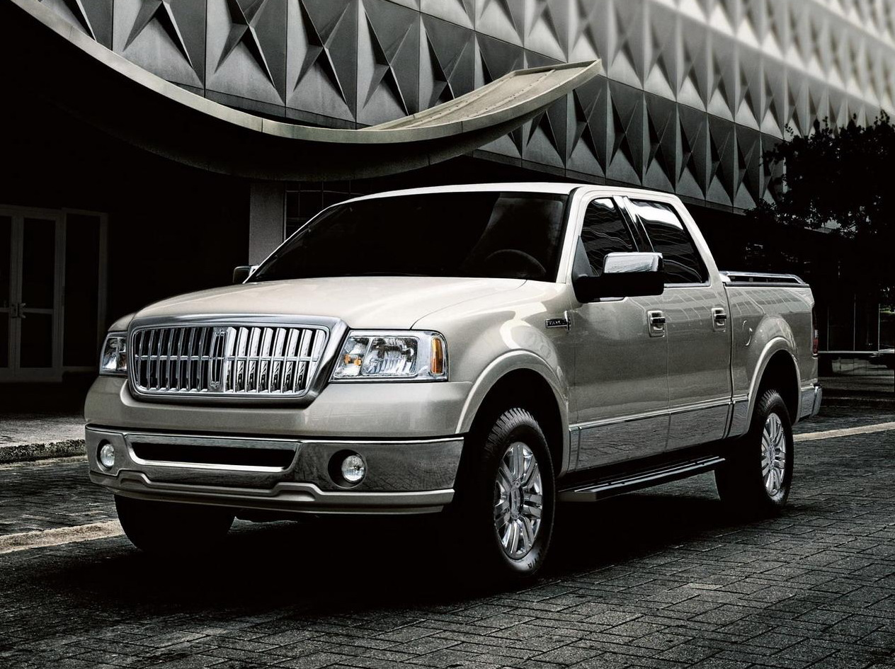 Types Of Pickup Trucks >> 2008 Lincoln Mark LT | Top Speed