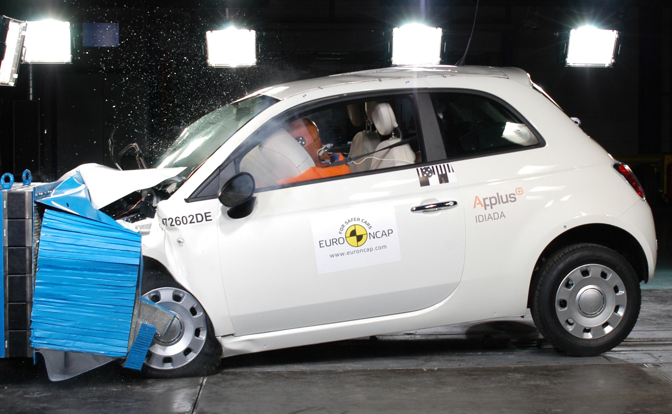 Five Euro NCAP Stars For Fiat 500 News - Top Sd