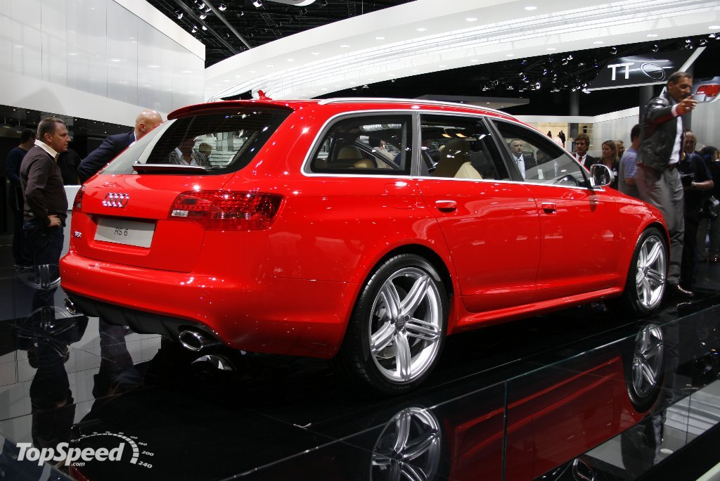 2008 audi rs6 avant picture 200021 car review top speed. Black Bedroom Furniture Sets. Home Design Ideas