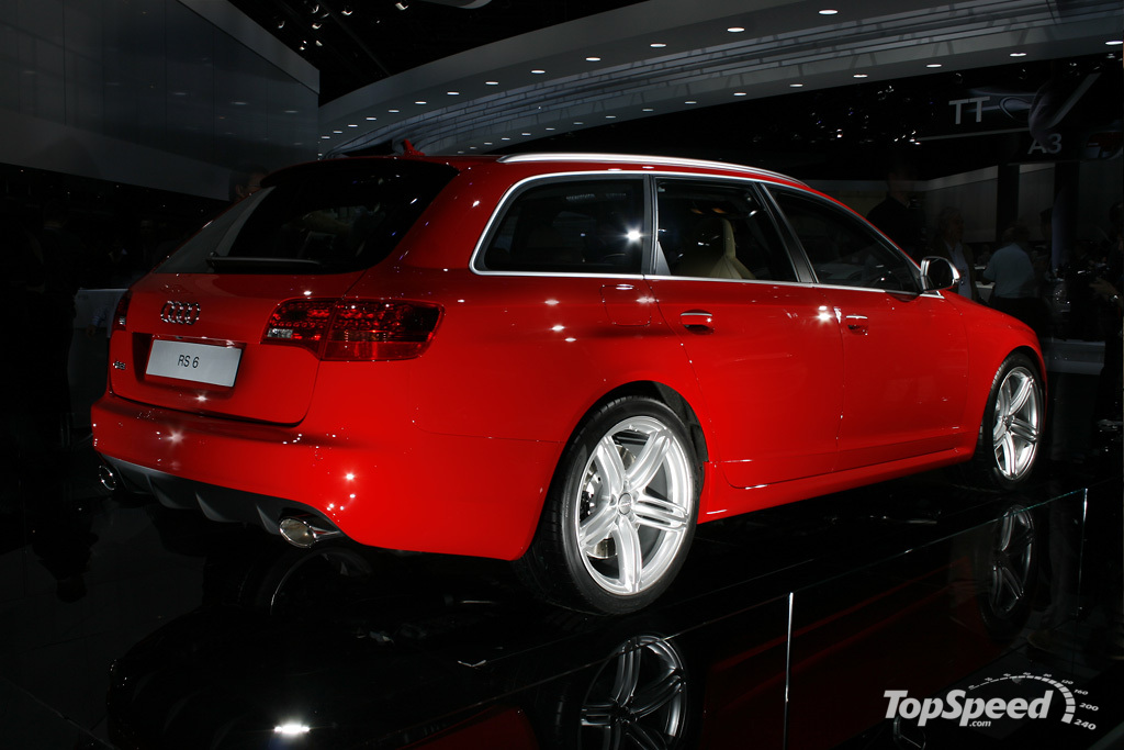 2008 audi rs6 avant picture 200024 car review top speed. Black Bedroom Furniture Sets. Home Design Ideas