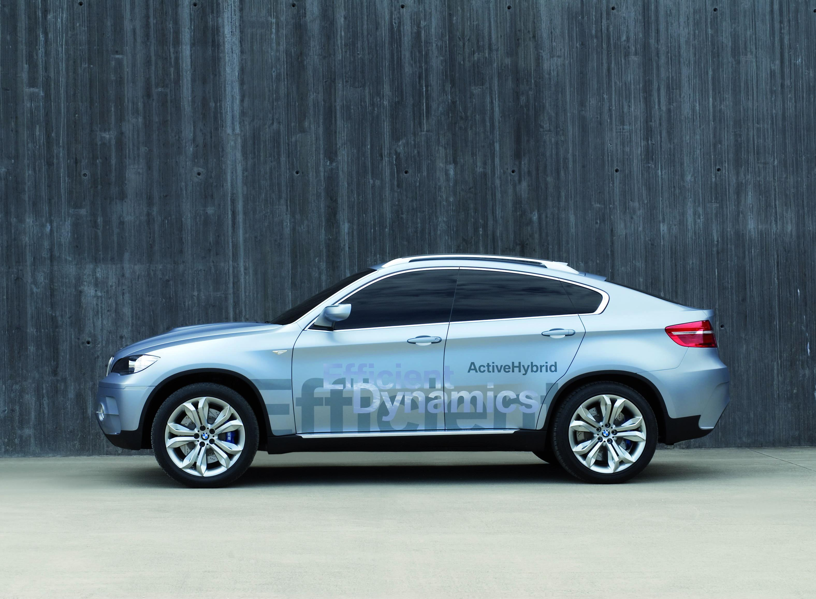2008 BMW Concept X6 ActiveHybrid Review - Top Speed