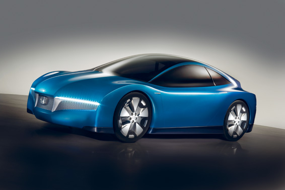 2008 Honda Small Hybrid Sports Concept Top Speed