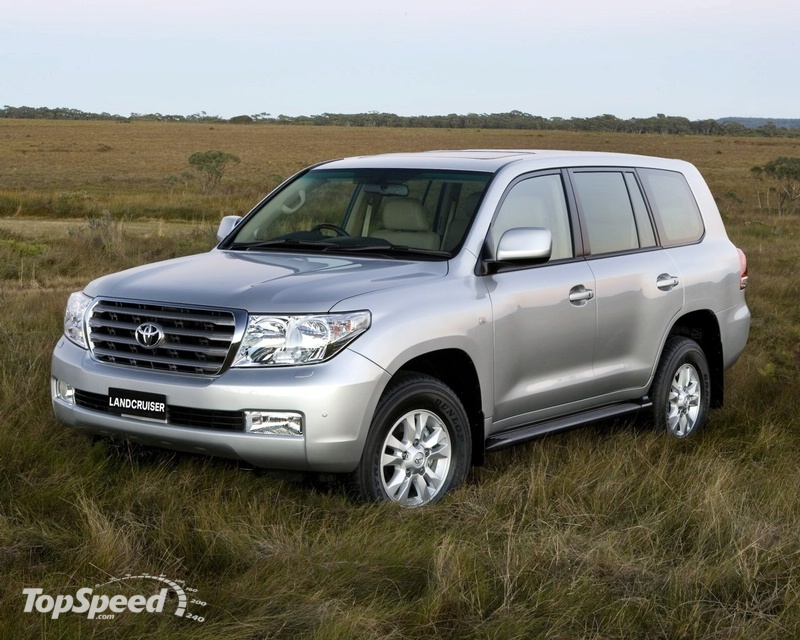 2008 Toyota Land Cruiser V8. 2008 Toyota Land Cruiser V8
