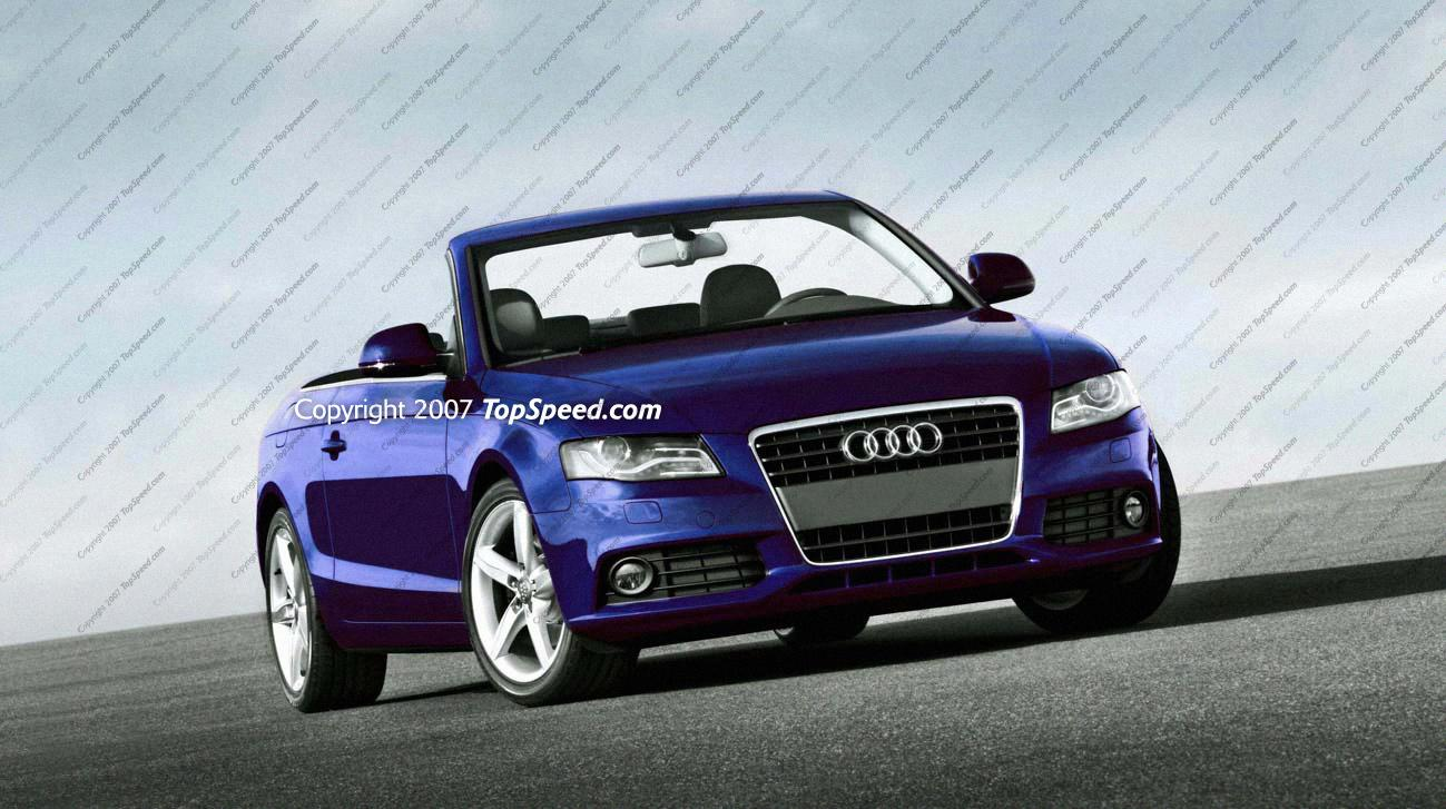 2009 Audi A4 Convertible | Top Speed
