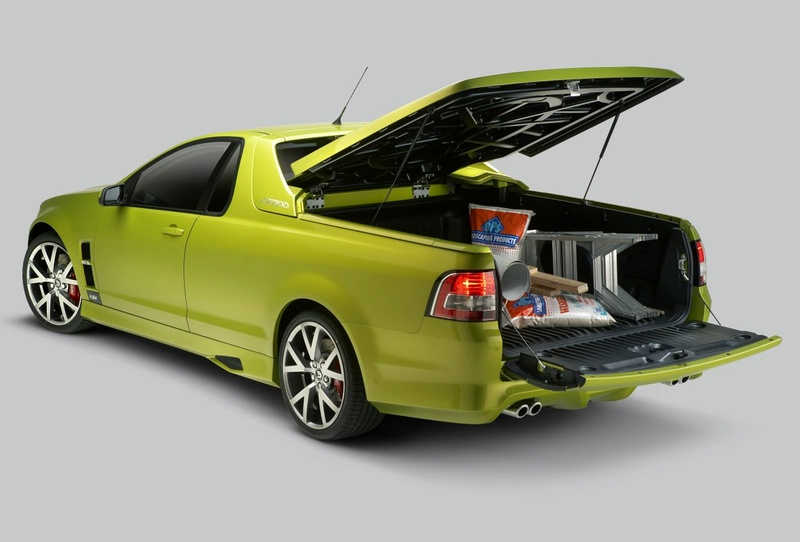 Types Of Pickup Trucks >> 2008 HSV Maloo R8 Ute Review - Top Speed