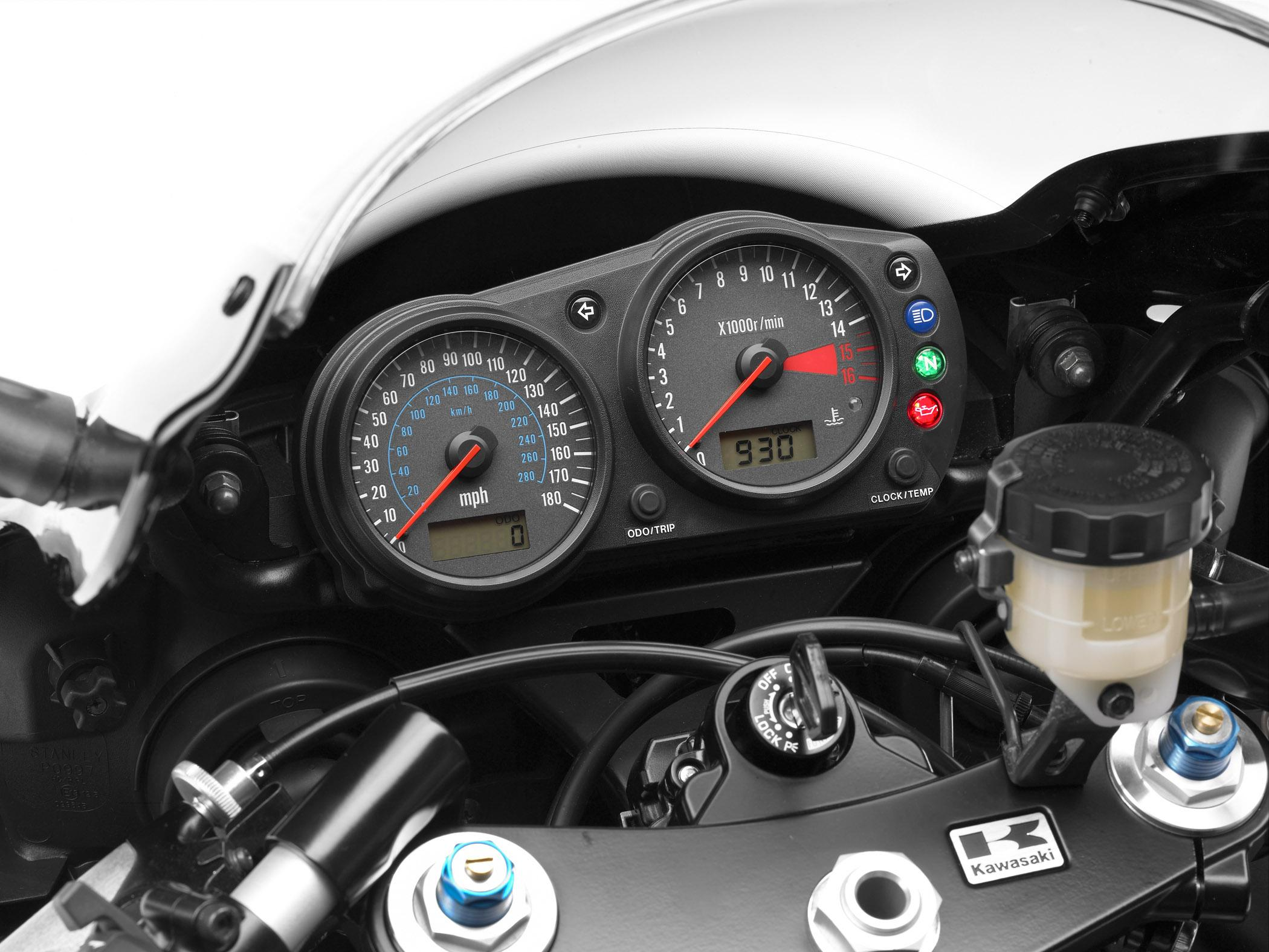 2008 Kawasaki ZZR600 | Top Speed