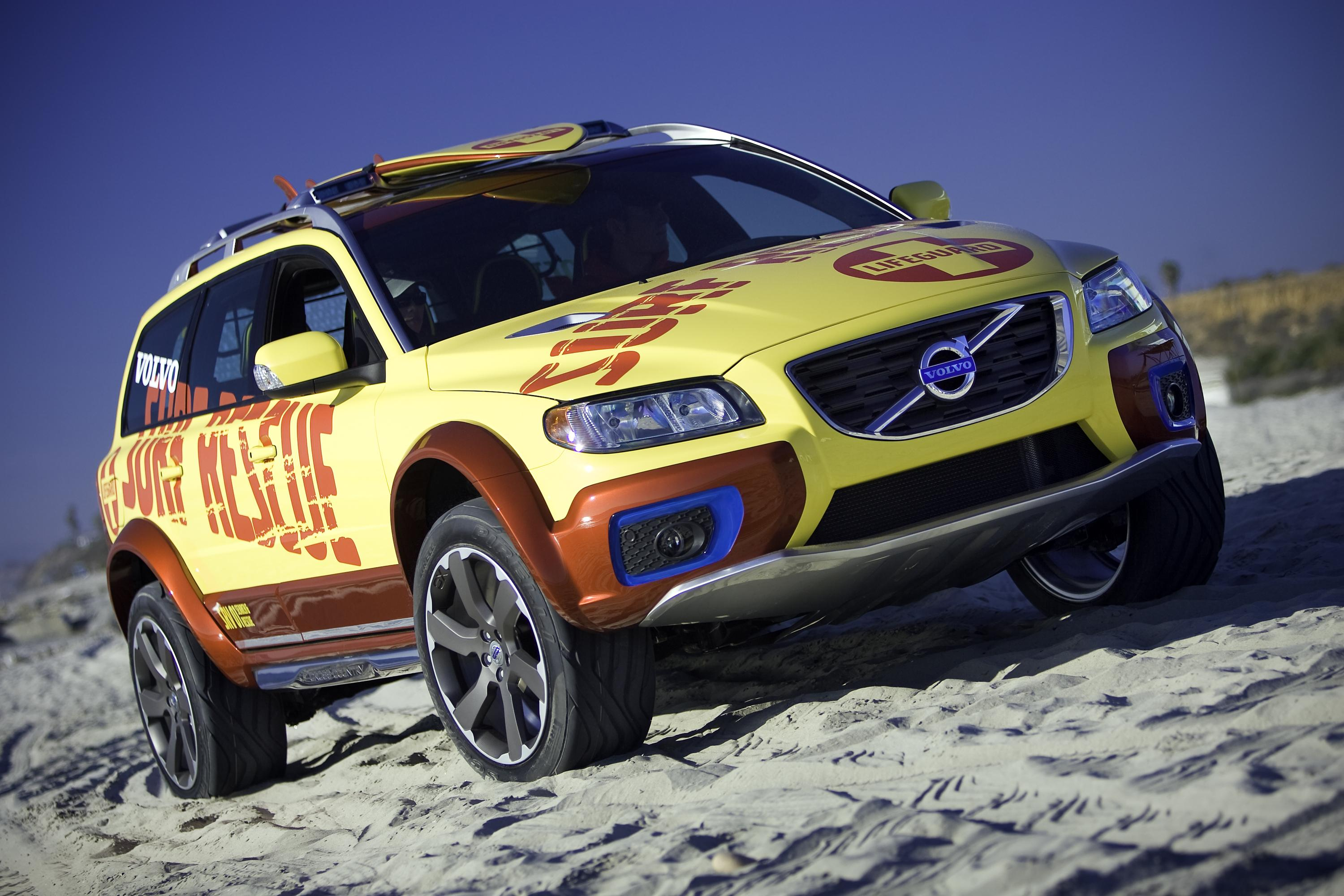 2007 Volvo XC70 Surf Rescue Review - Top Speed
