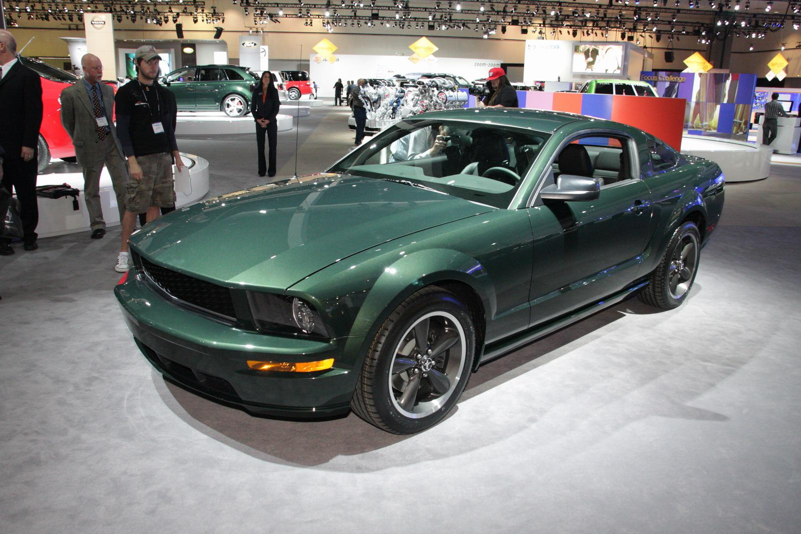 2008 ford mustang bullitt top speed