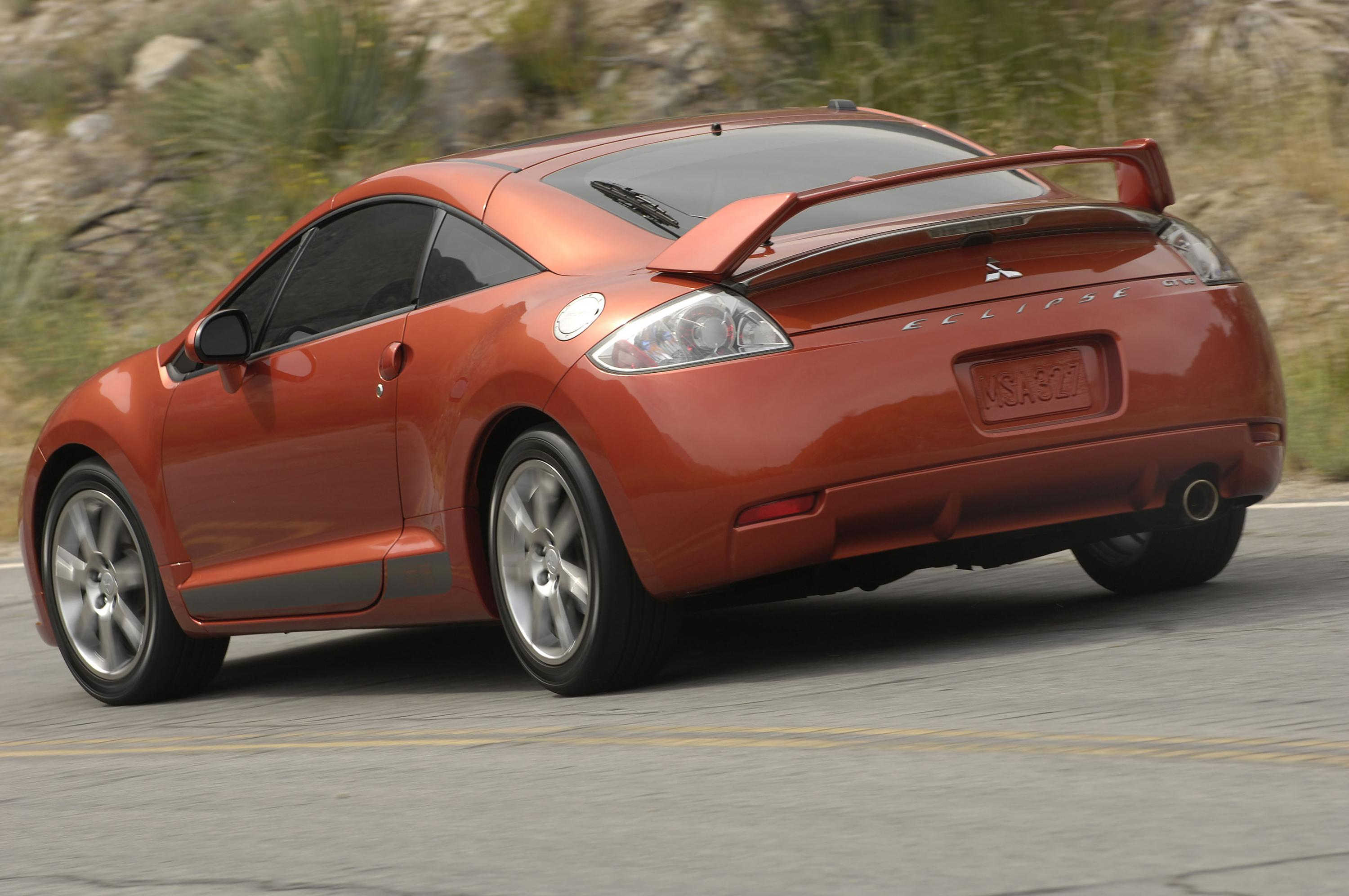2008 Mitsubishi Eclipse Review - Top Speed