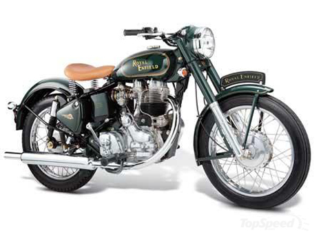 2008 Royal Enfield Bullet 500ES Classic wallpaper image