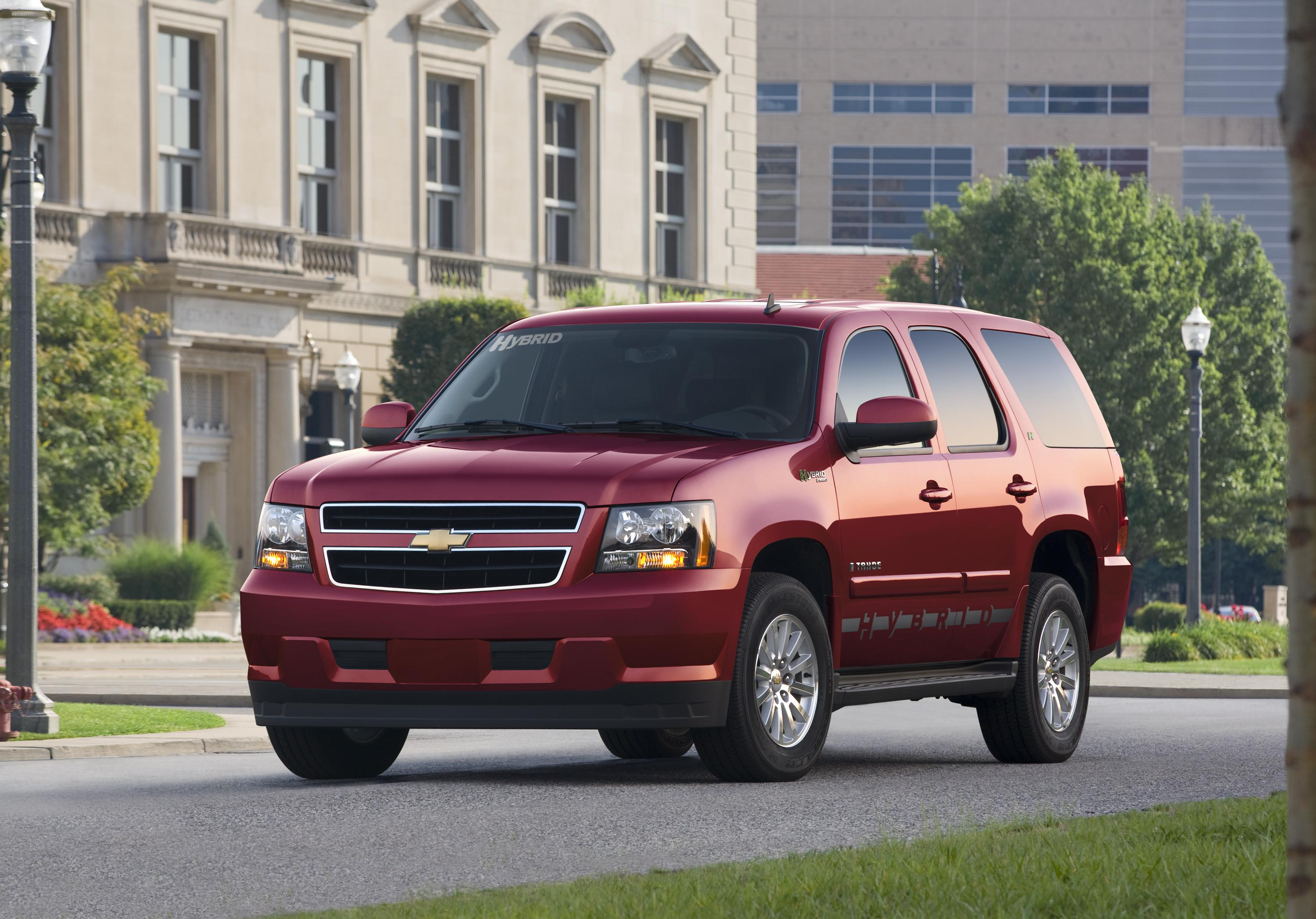 Chevrolet Tahoe Hybrid 2008 Green Car Of The Year Top