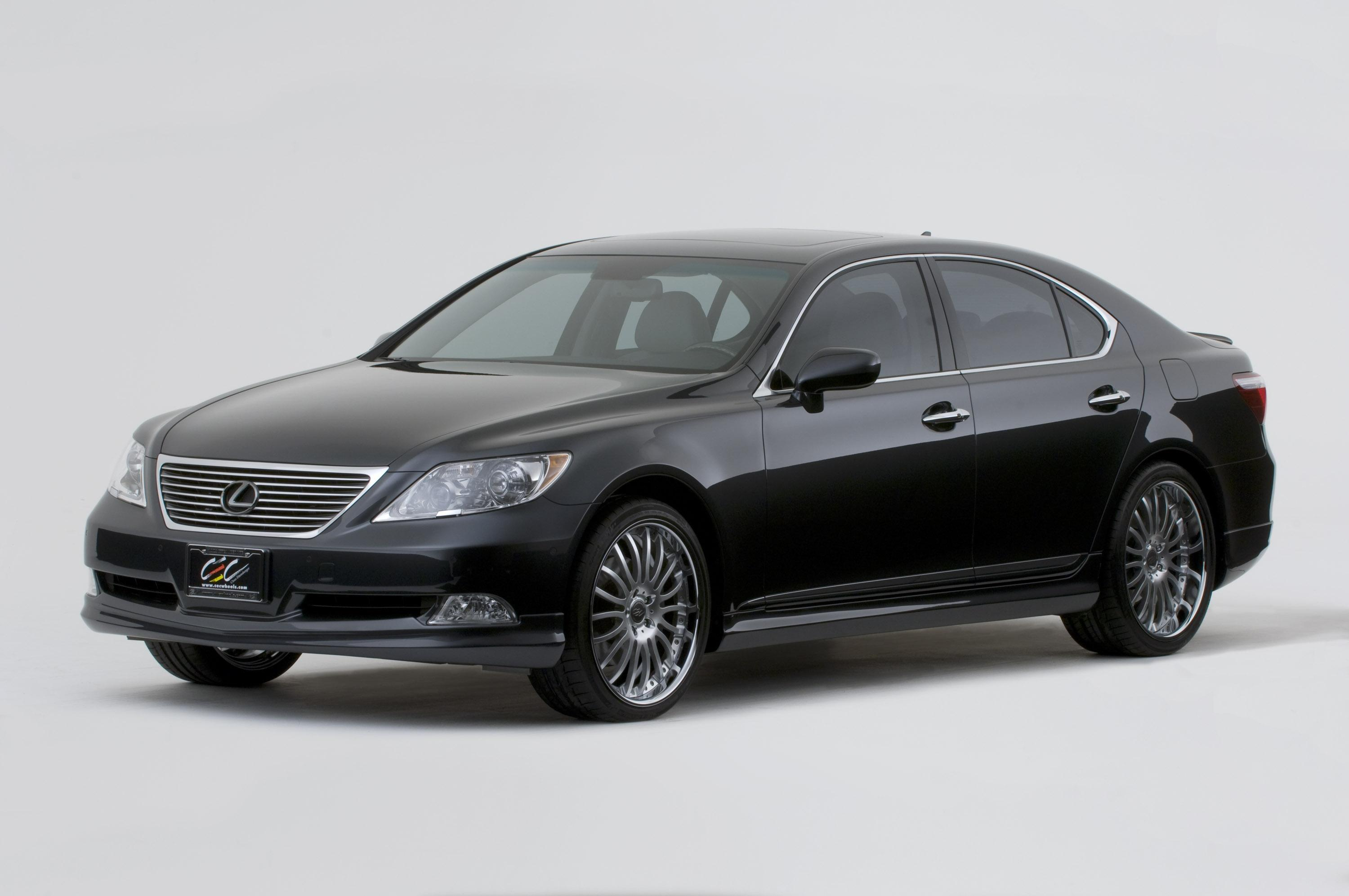 2007 lexus ls 460 by cec wheels pictures photos wallpapers top speed. Black Bedroom Furniture Sets. Home Design Ideas