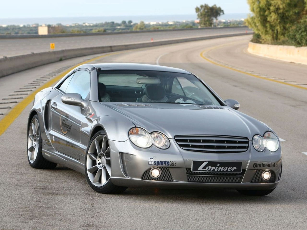Mercedes Sl65 Amg By Lorinser Top Speed