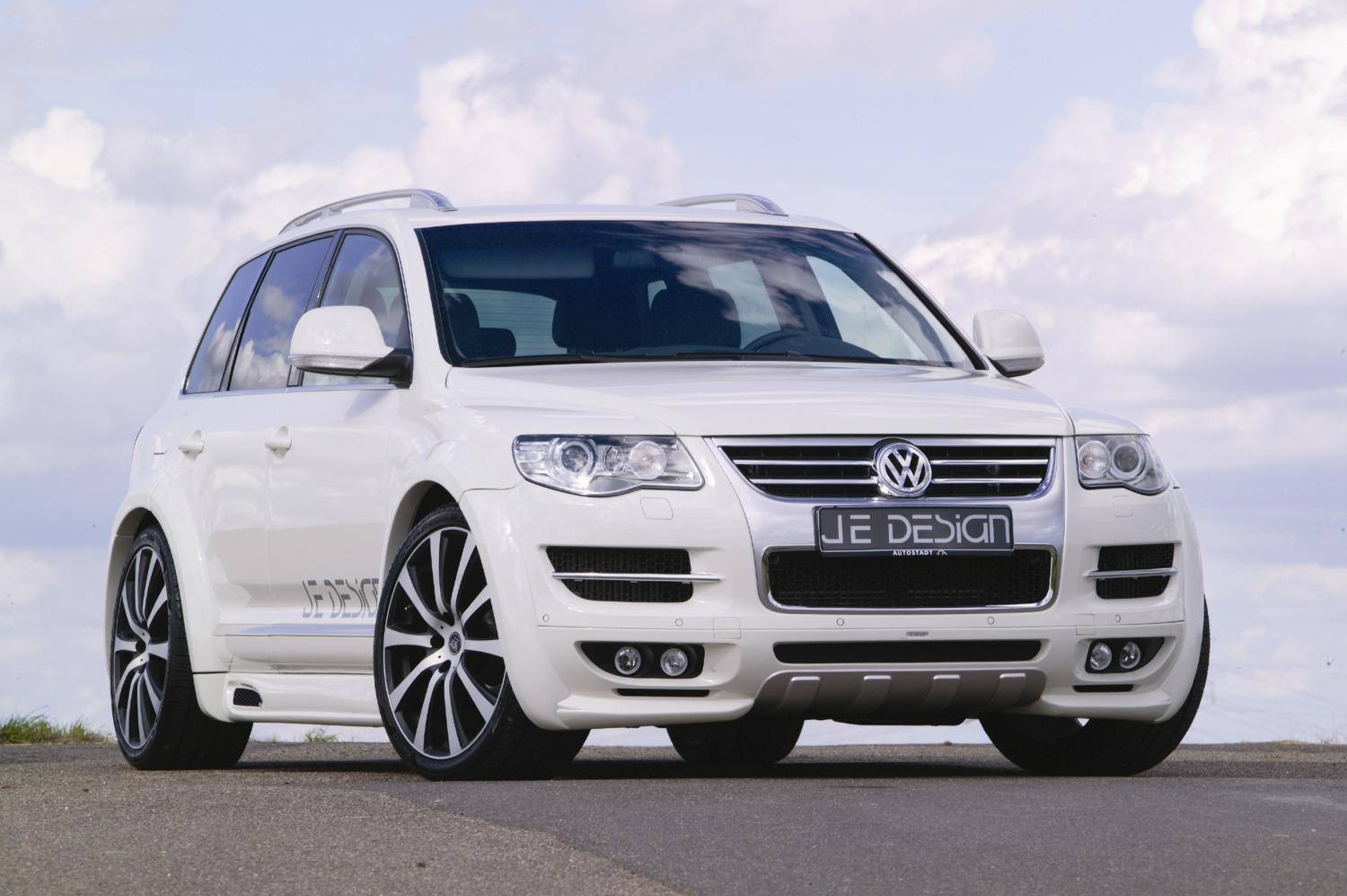 volkswagen touareg wide body  jedesign top speed