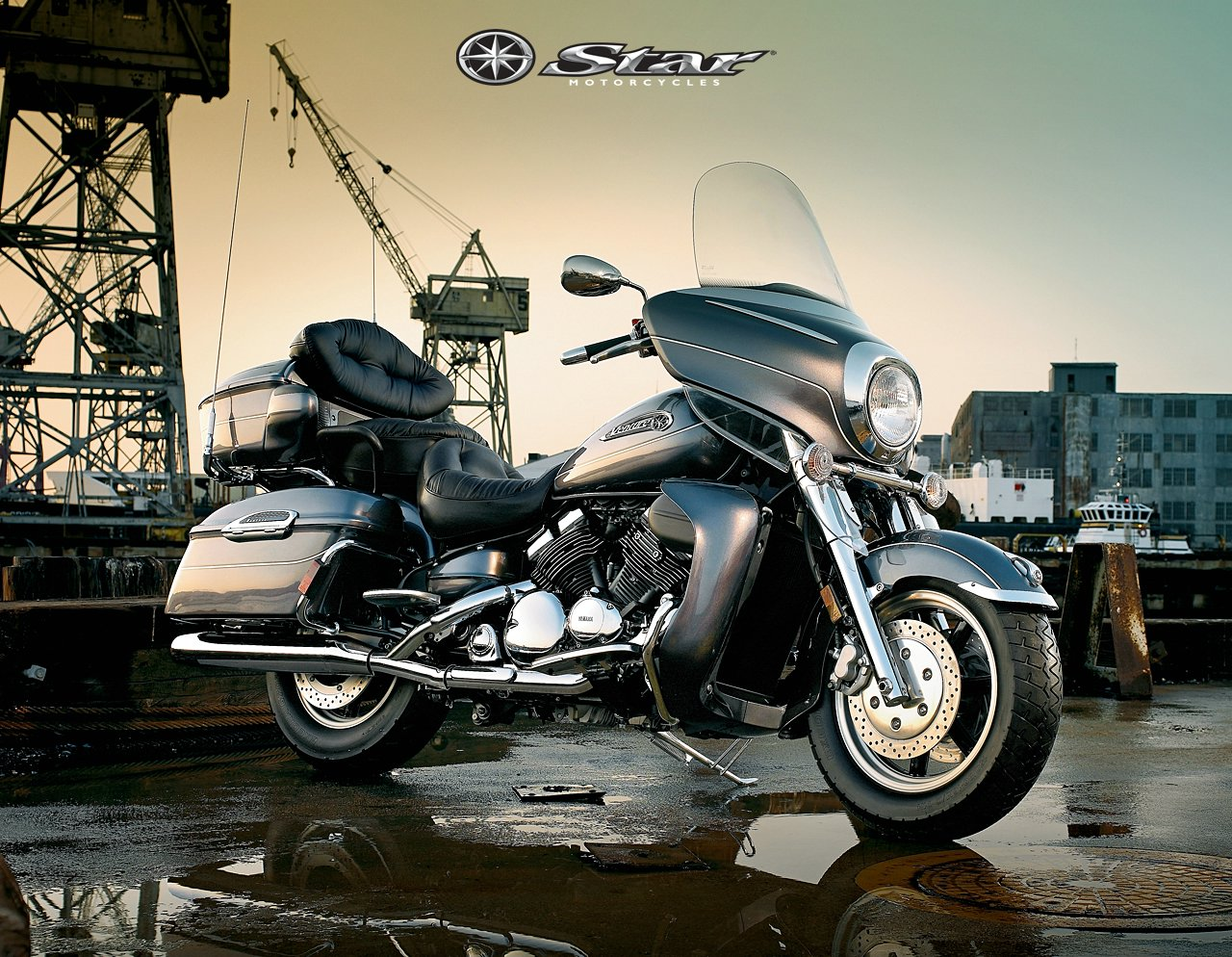 Yamaha Royal Star Ve on 2008 Yamaha R6