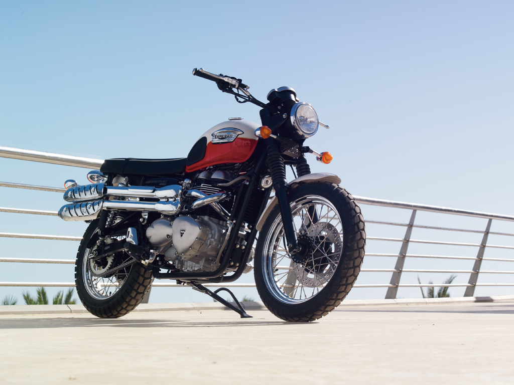 Best One Tire >> 2008 Triumph Scrambler Review - Top Speed