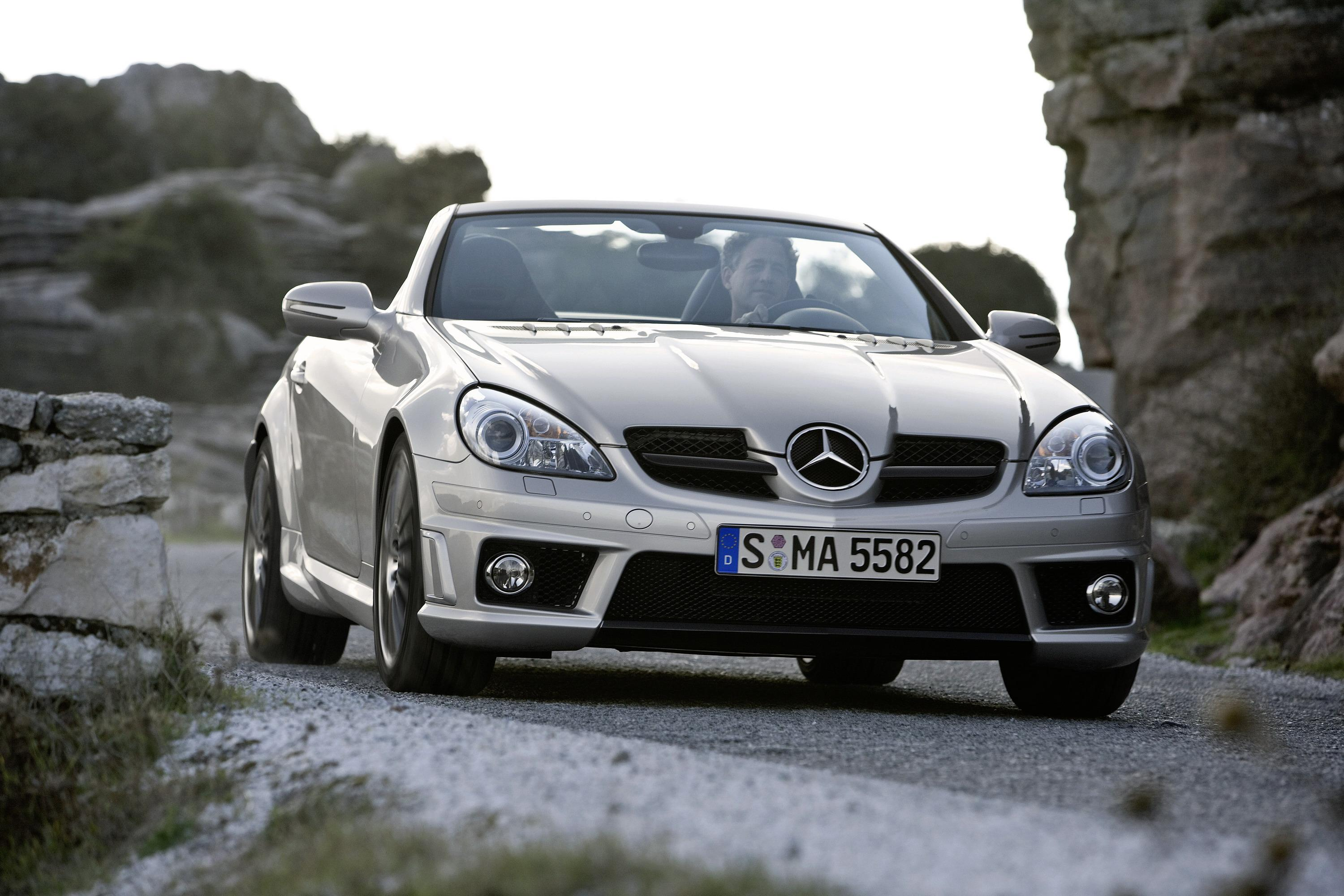 2009 mercedes slk 55 amg review top speed. Black Bedroom Furniture Sets. Home Design Ideas
