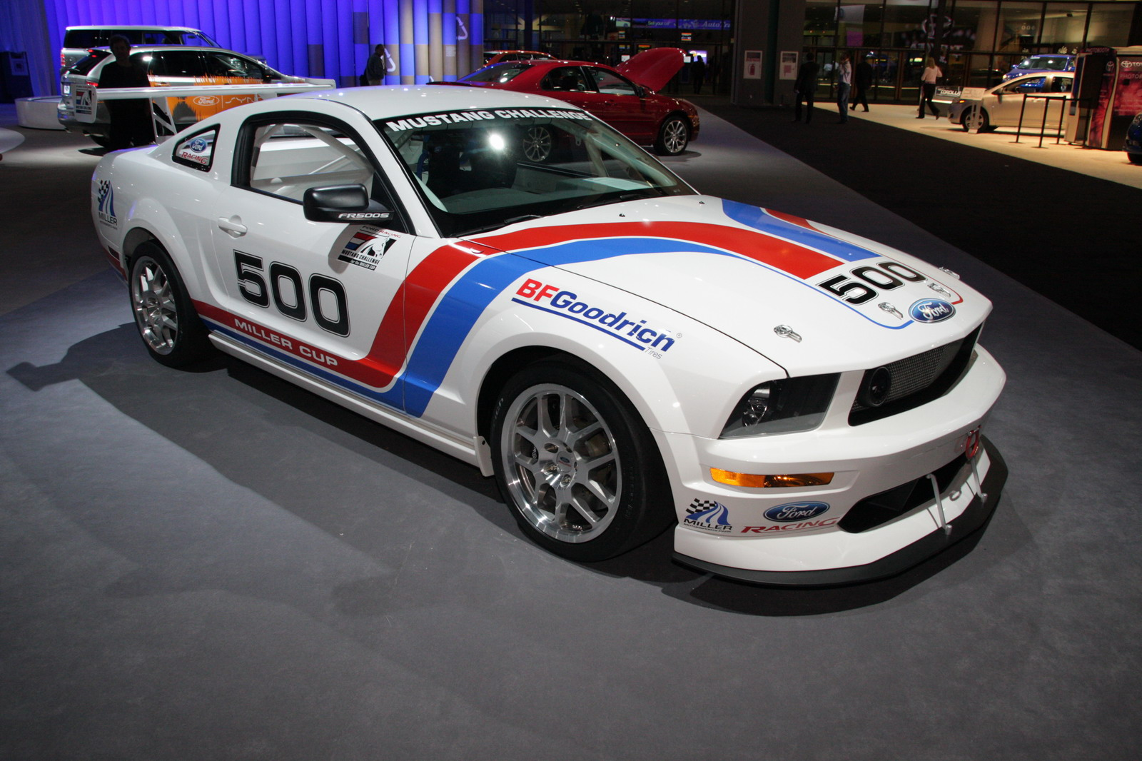 Ford Mustang Fr500s Launched