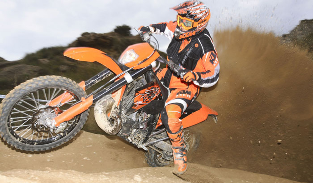 2008 KTM 450-530 EXC-R | Top Speed